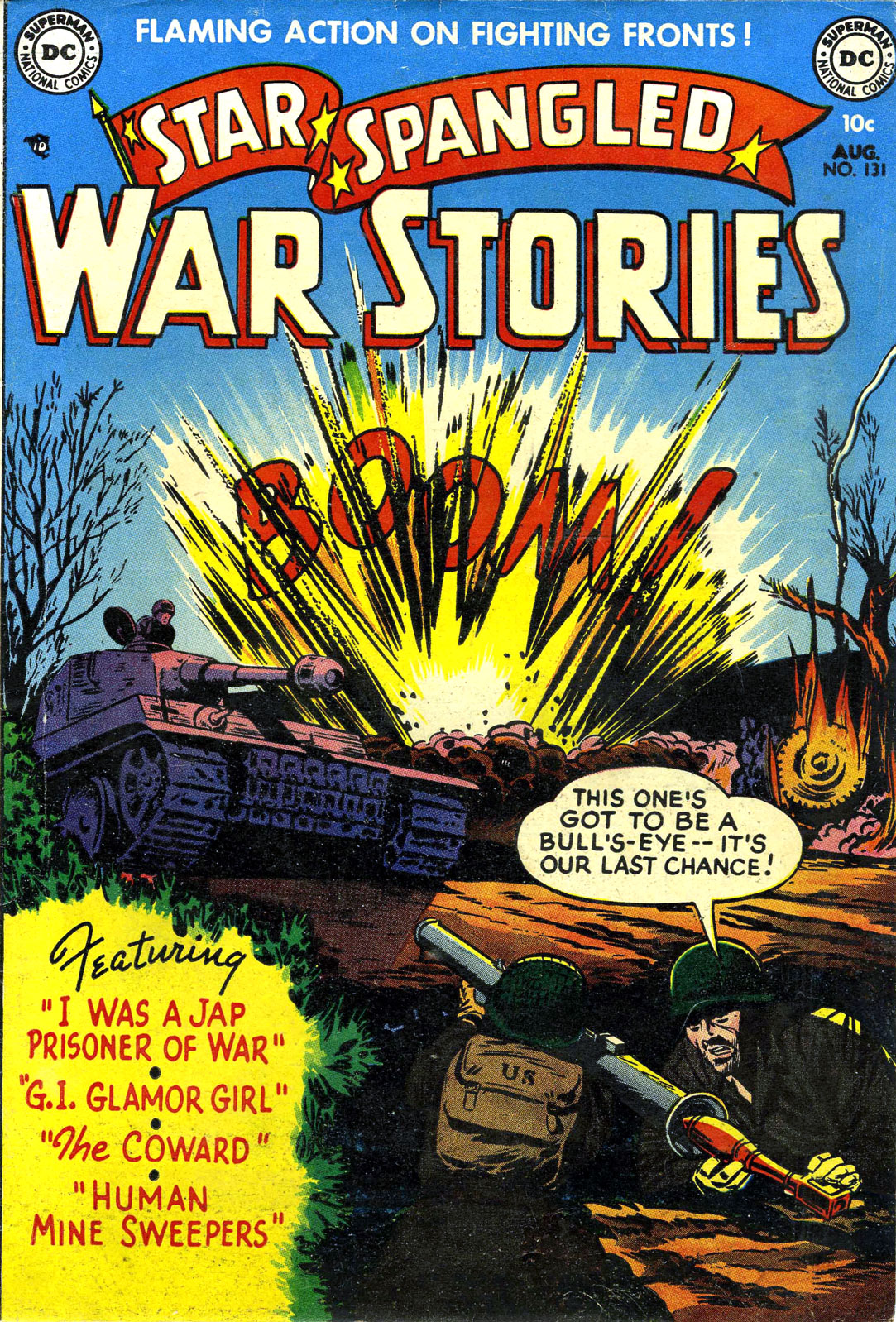 Star Spangled War Stories (1952) issue 1 - Page 1