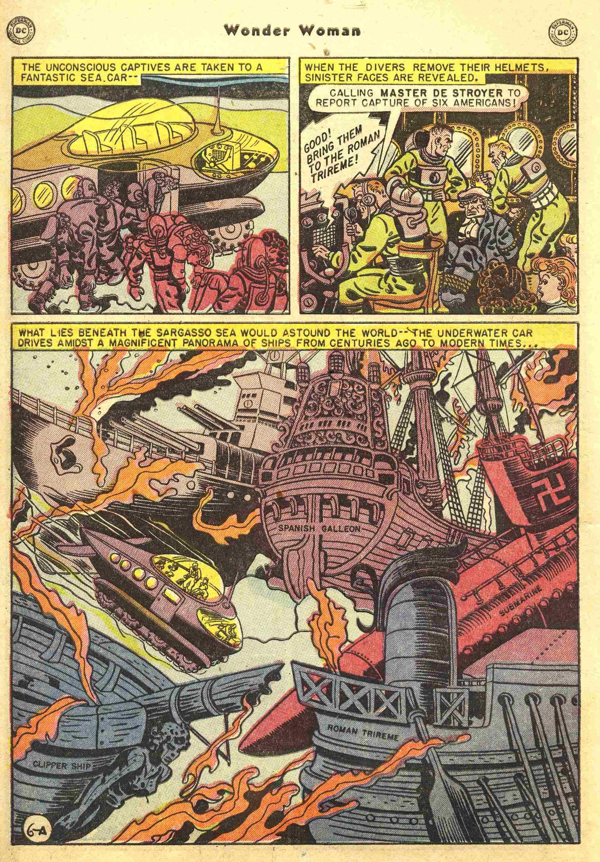 Read online Wonder Woman (1942) comic -  Issue #44 - 7