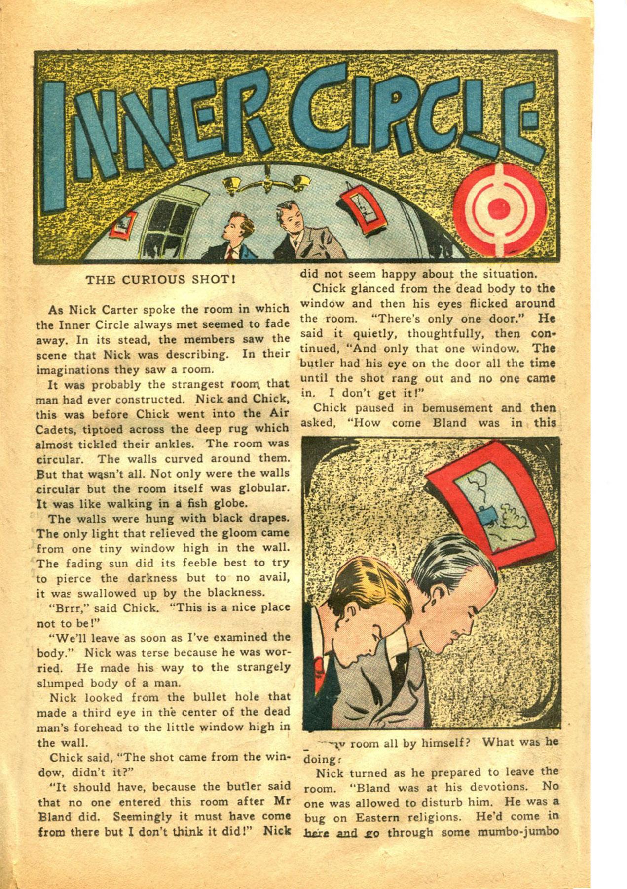 Read online Shadow Comics comic -  Issue #48 - 29