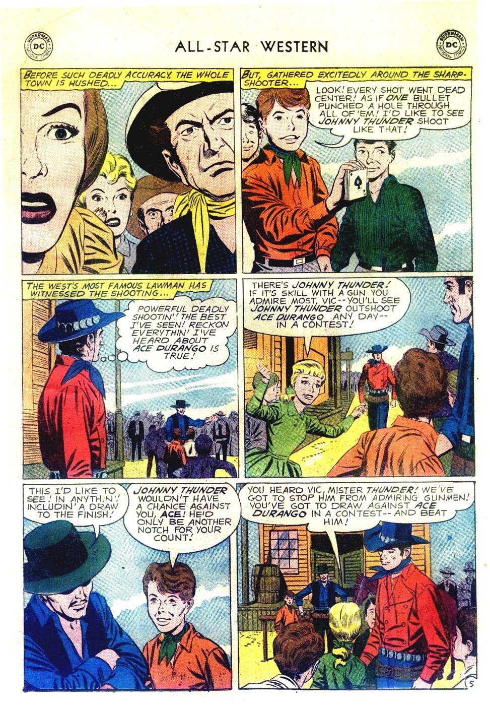 Read online All-Star Western (1951) comic -  Issue #111 - 7