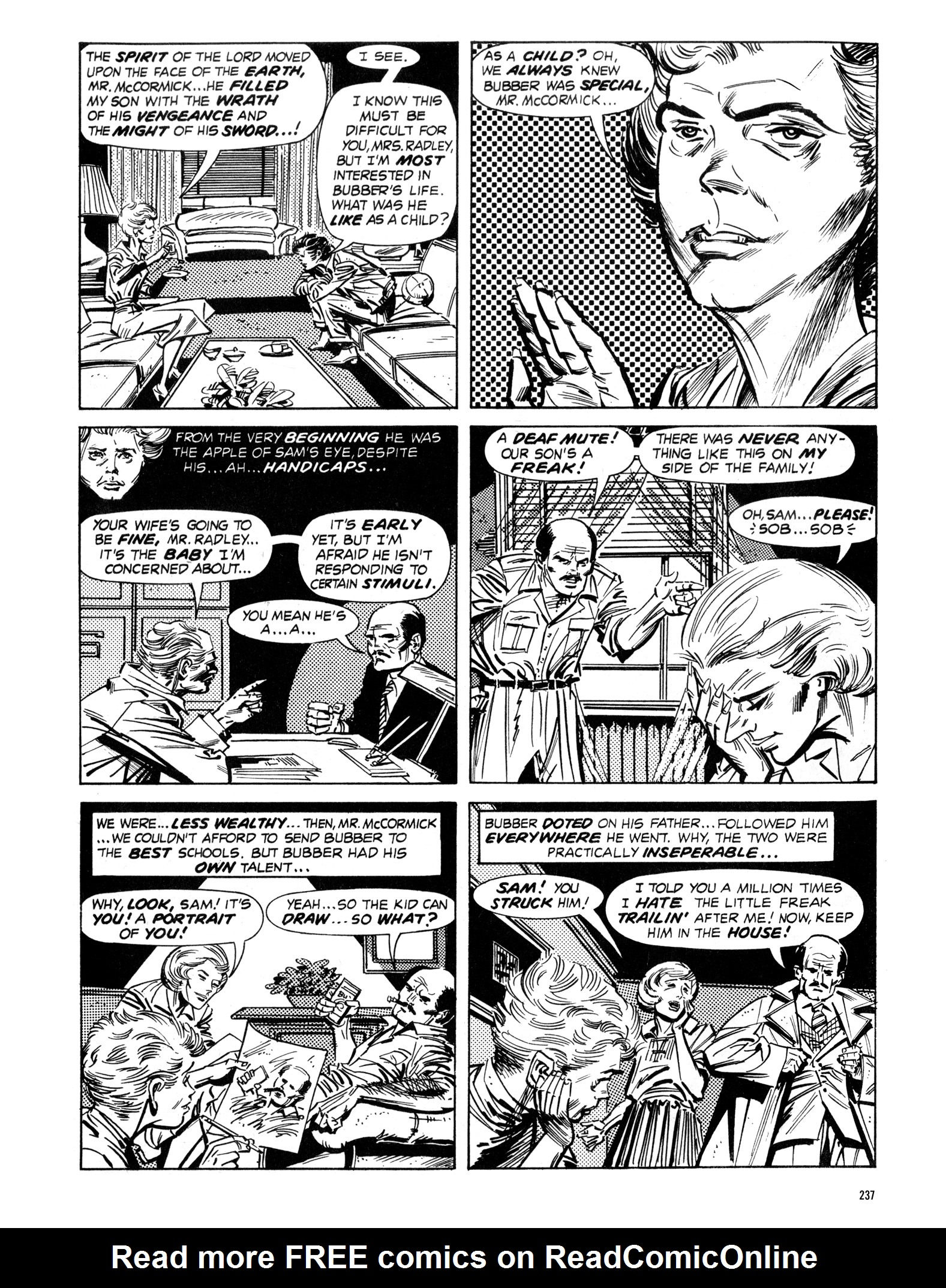 Read online Eerie Archives comic -  Issue # TPB 16 - 238