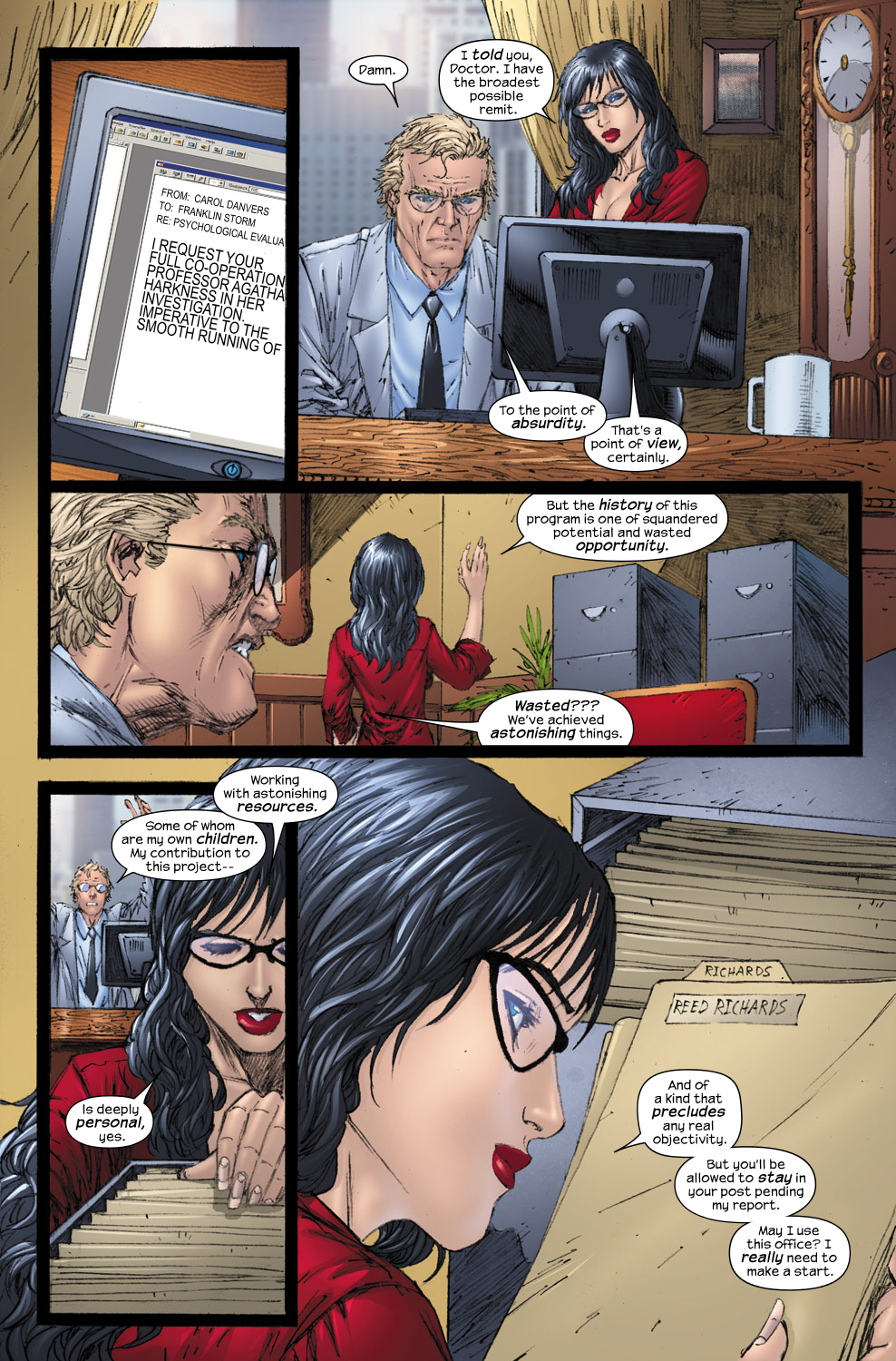 Read online Ultimate Fantastic Four (2004) comic -  Issue #54 - 15