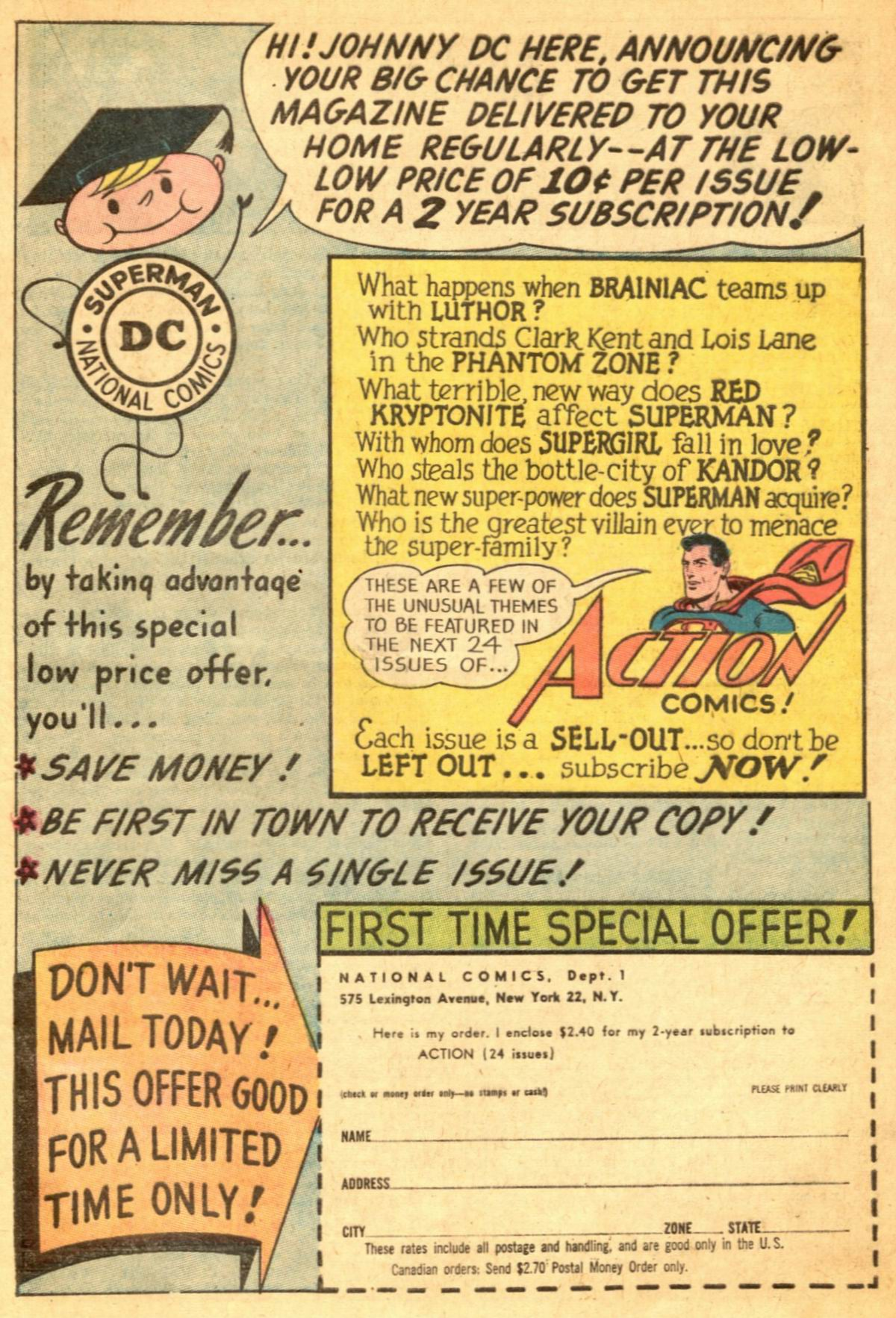 Read online Action Comics (1938) comic -  Issue #300 - 17