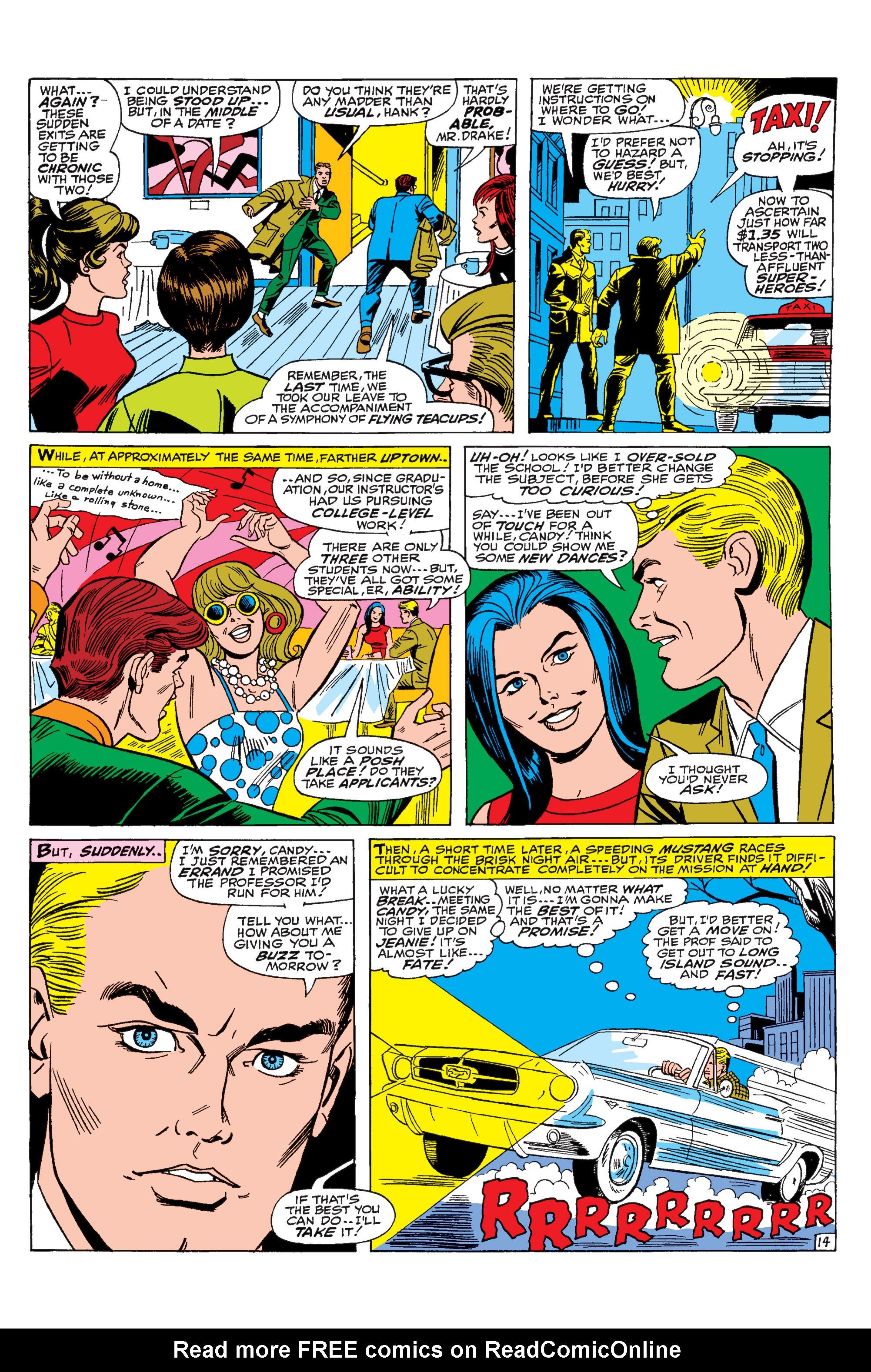 Read online Uncanny X-Men (1963) comic -  Issue #31 - 15