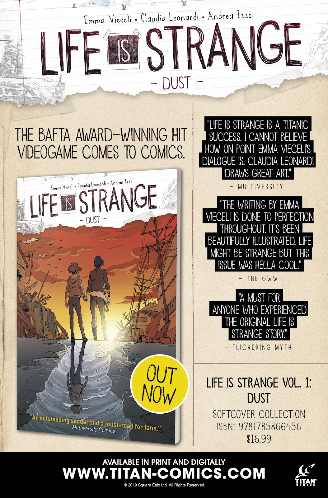 Read online Life is Strange comic -  Issue #7 - 31