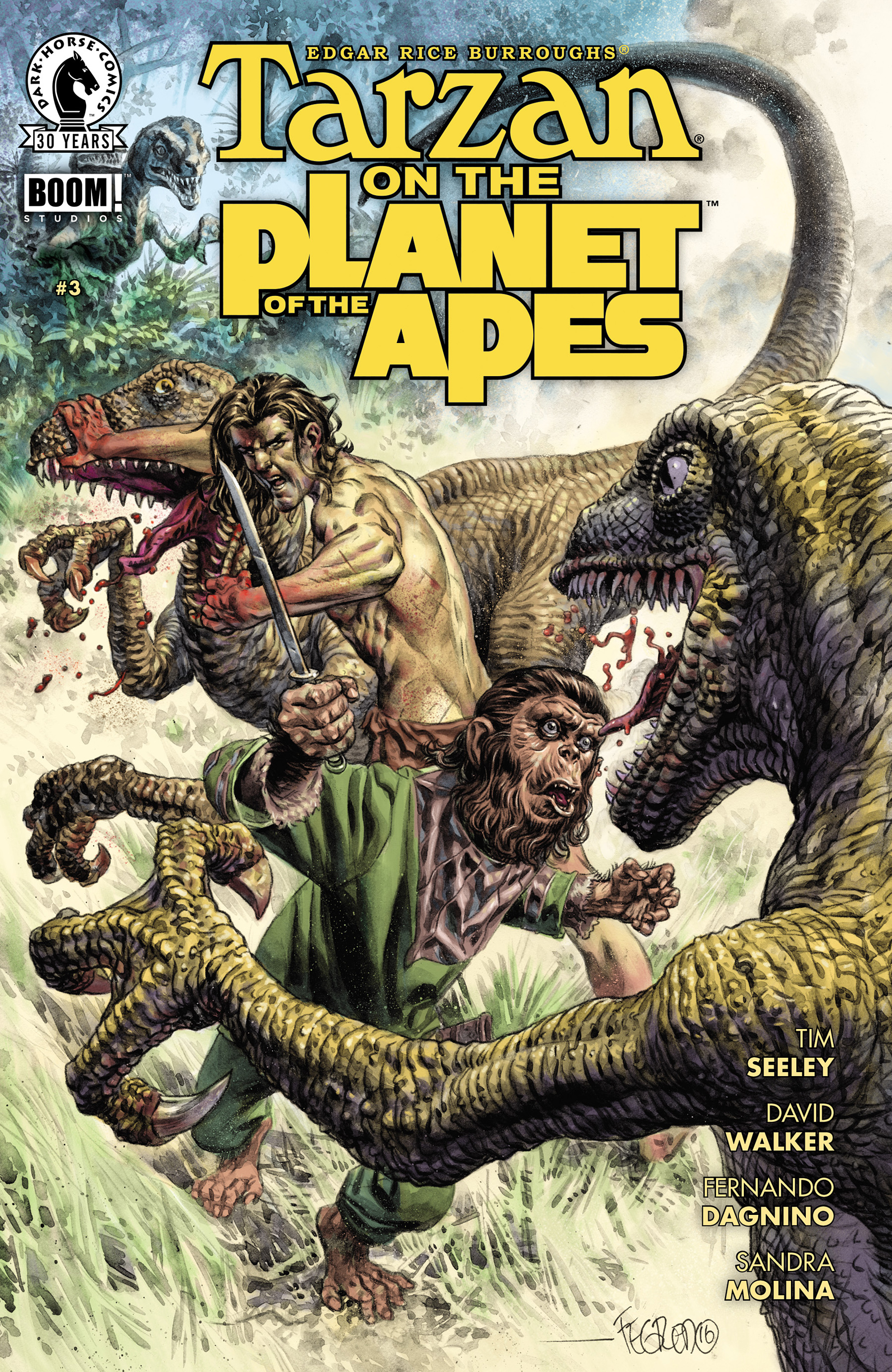 Tarzan On the Planet of the Apes 3 Page 1
