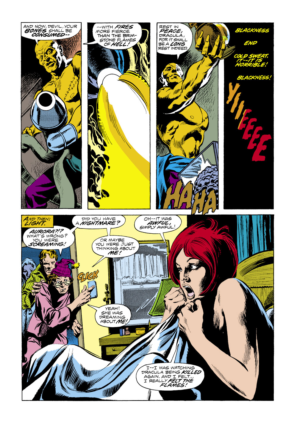 Tomb of Dracula (1972) issue 40 - Page 4