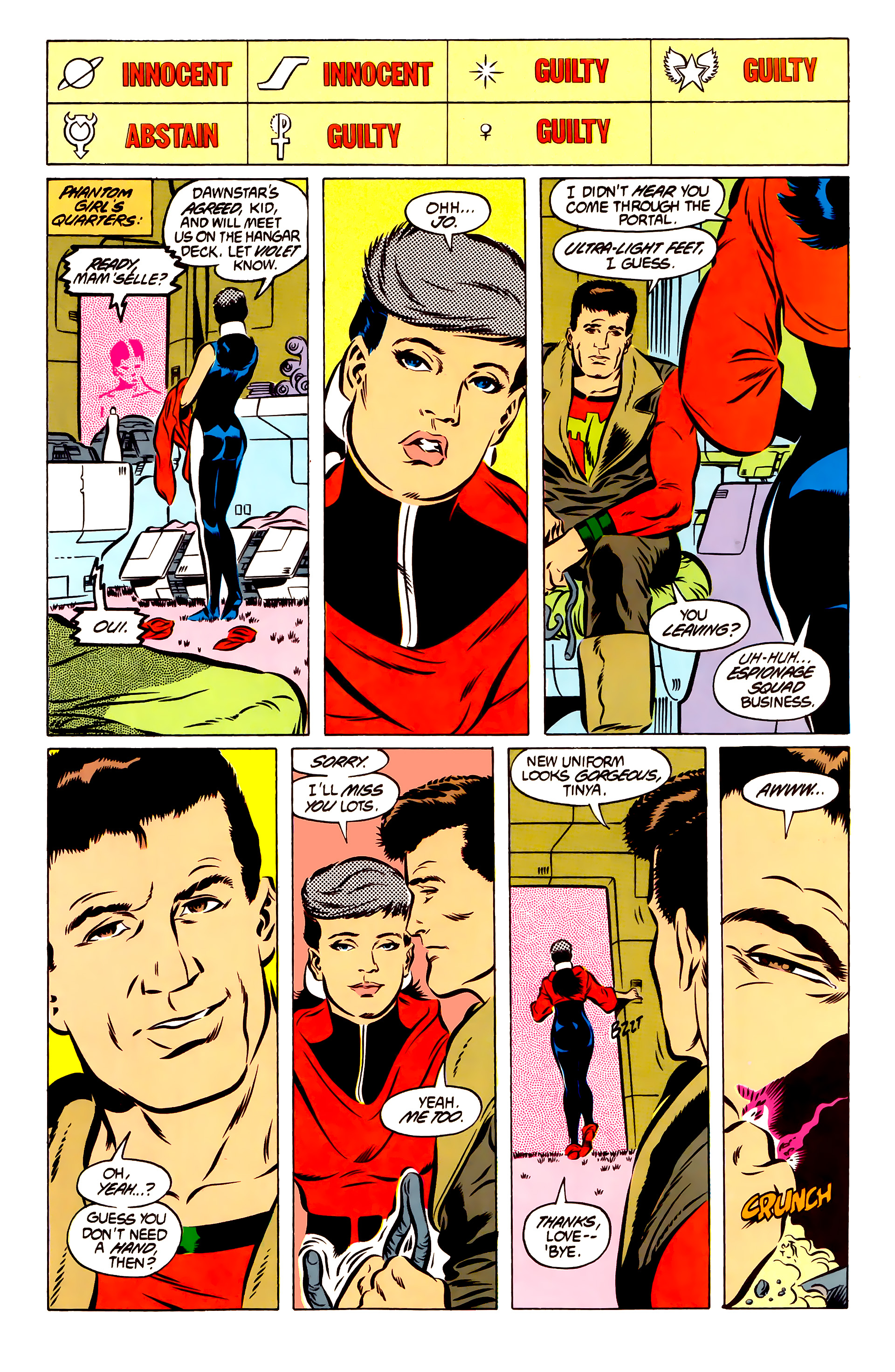 Legion of Super-Heroes (1984) 51 Page 20