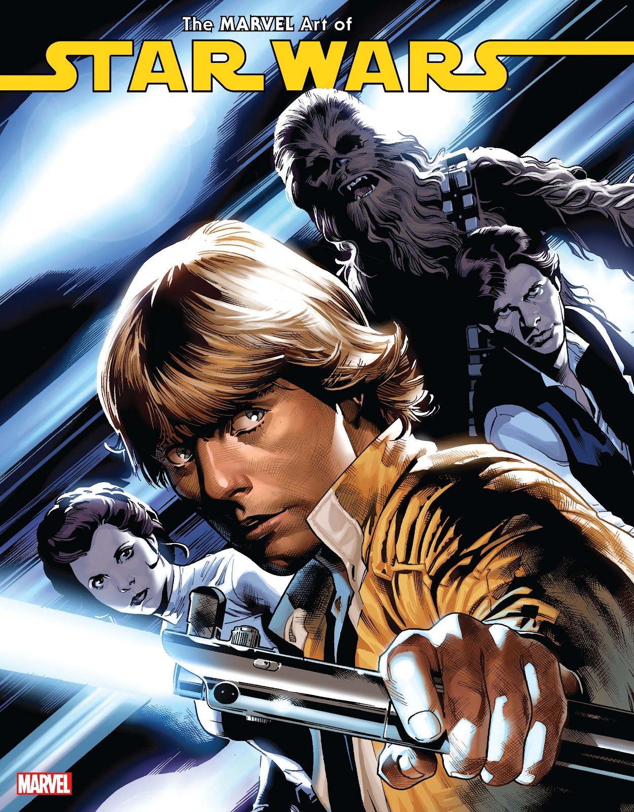 Read online The Marvel Art of Star Wars comic -  Issue # TPB (Part 1) - 1