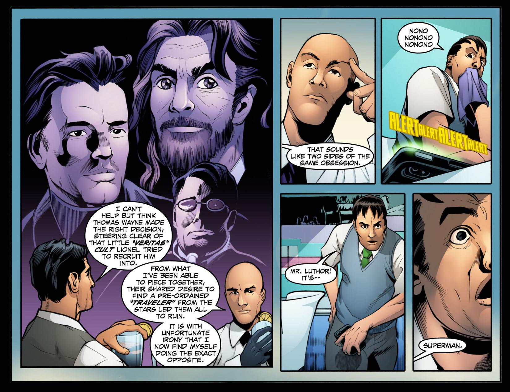 Read online Smallville: Season 11 comic -  Issue #15 - 11