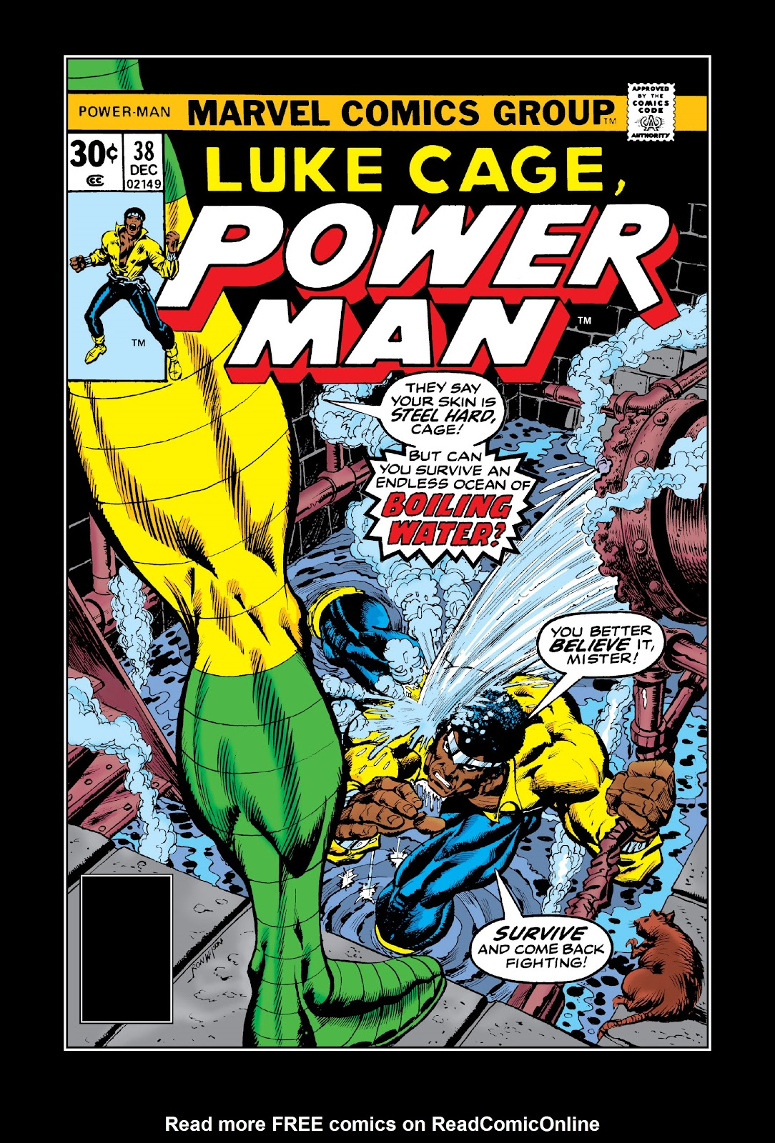 Read online Marvel Masterworks: Luke Cage, Power Man comic -  Issue # TPB 3 (Part 2) - 37