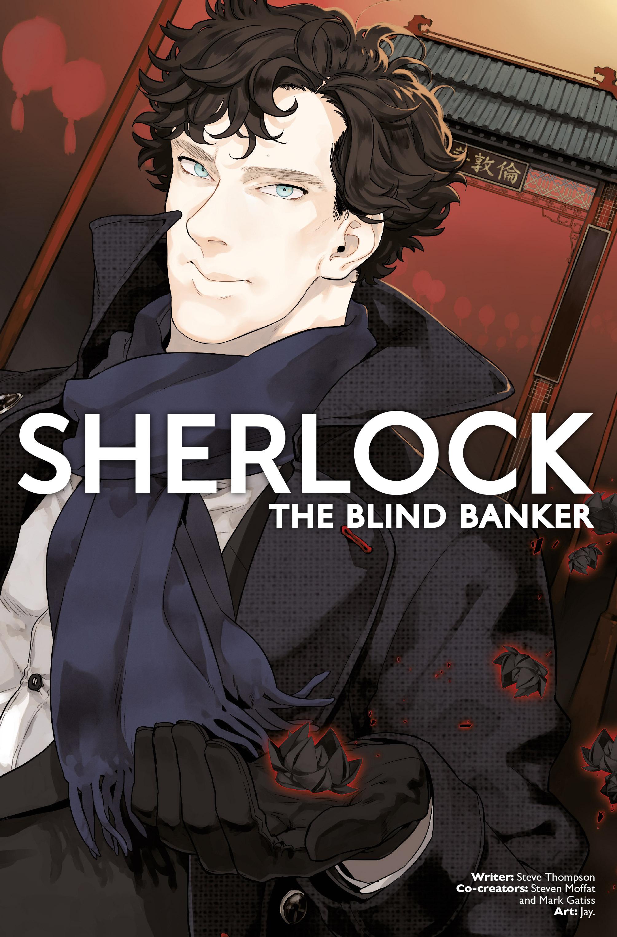 Read online Sherlock: The Blind Banker comic -  Issue #3 - 1