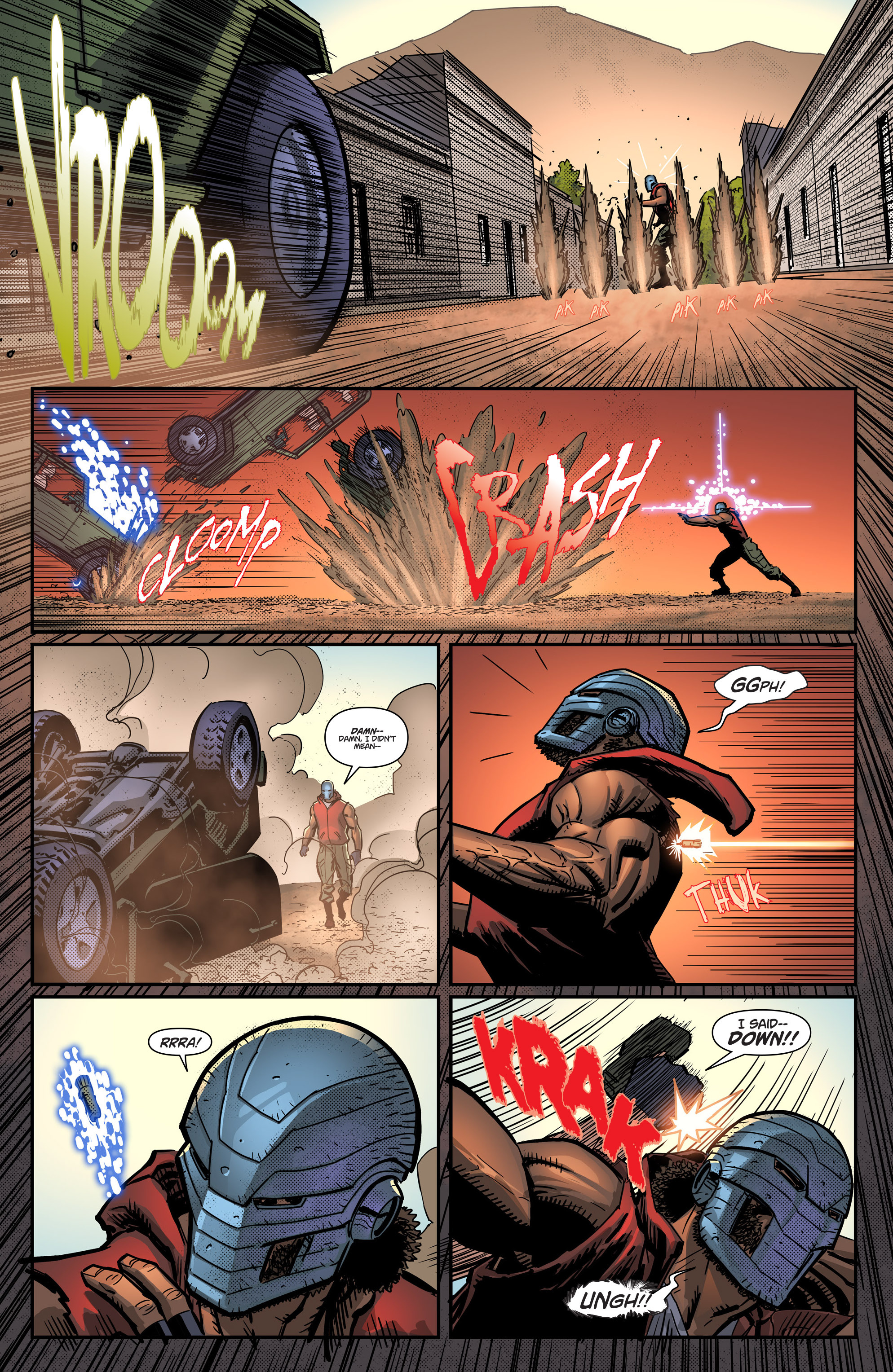 Read online Noble comic -  Issue #1 - 13