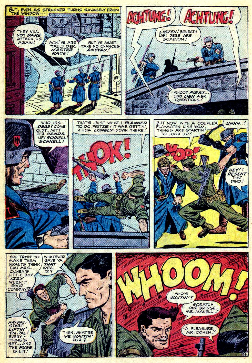 Read online Sgt. Fury comic -  Issue #28 - 10