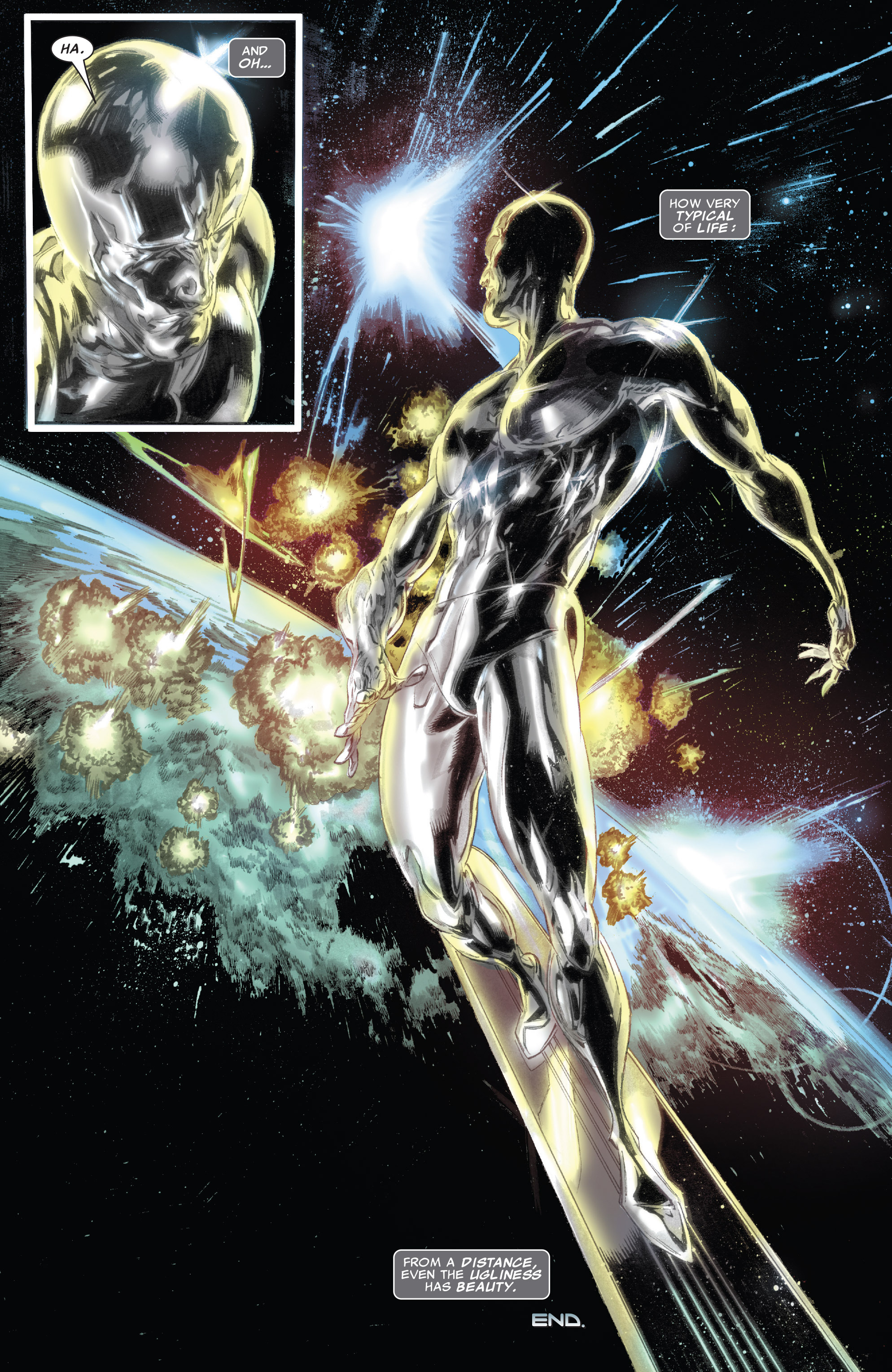 Read online Silver Surfer: In Thy Name comic -  Issue #4 - 23