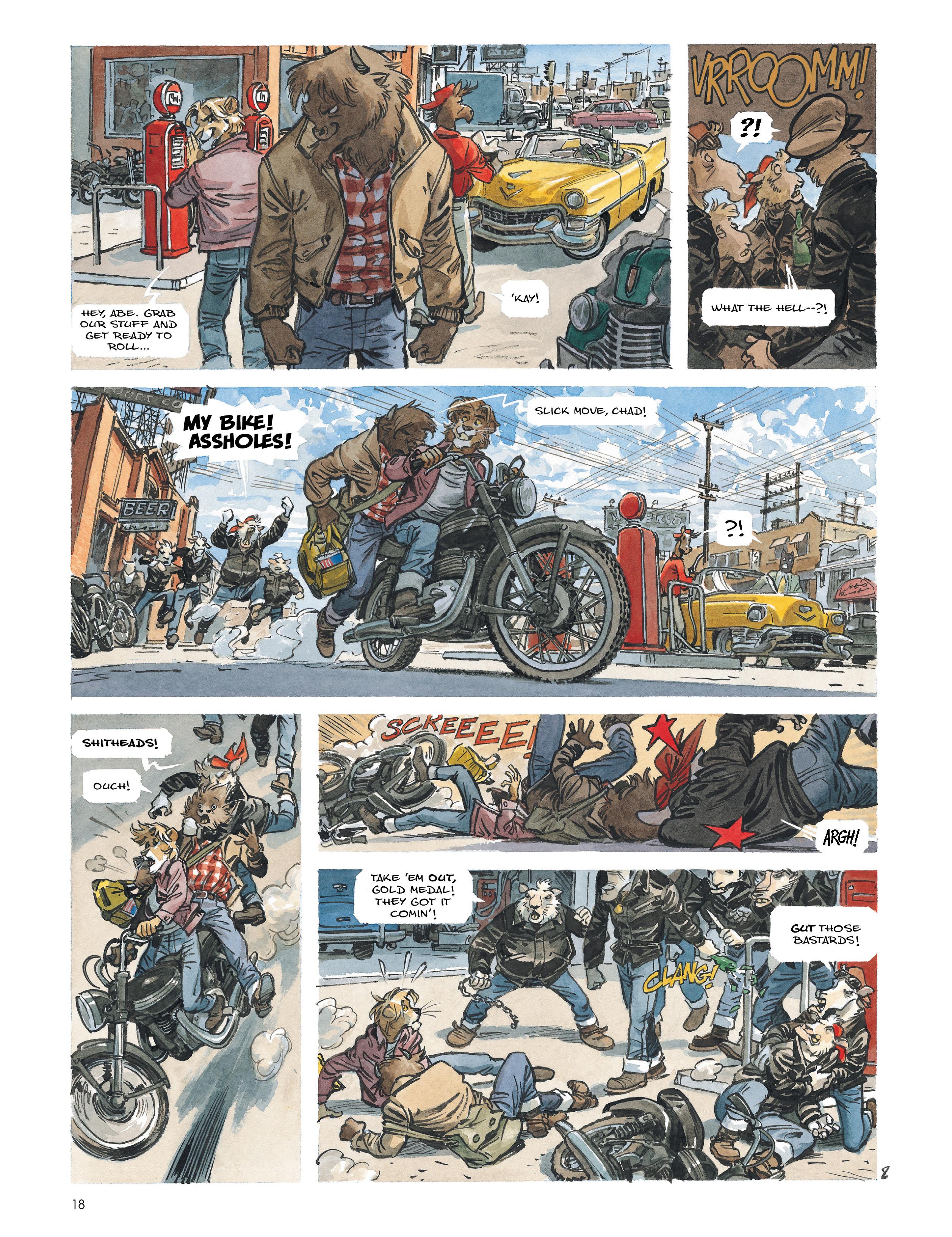 Read online Blacksad: Amarillo comic -  Issue # Full - 17