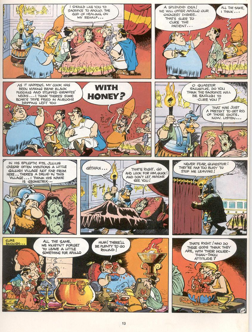 Read online Asterix comic -  Issue #16 - 10