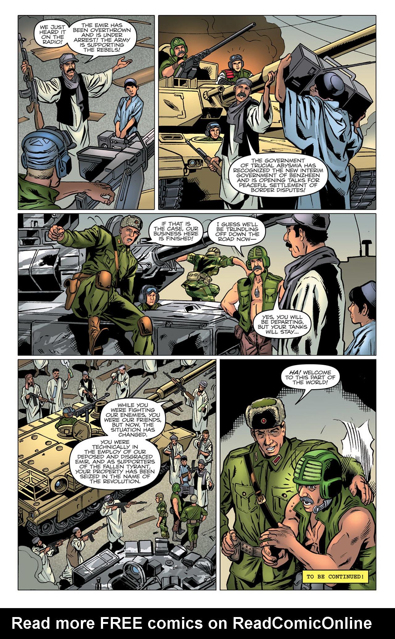 G.I. Joe: A Real American Hero 174 Page 25