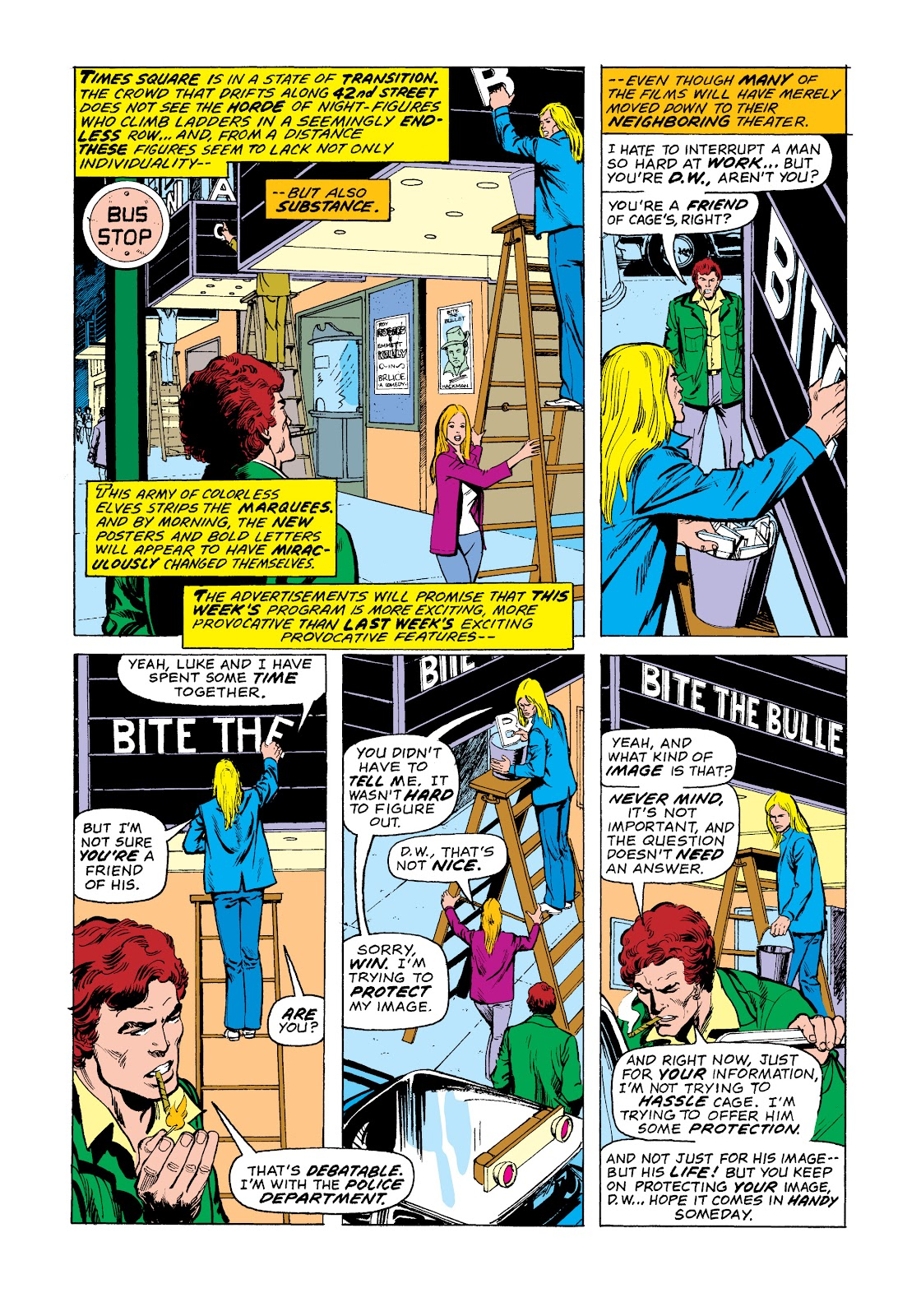 Read online Marvel Masterworks: Luke Cage, Power Man comic -  Issue # TPB 2 (Part 3) - 87