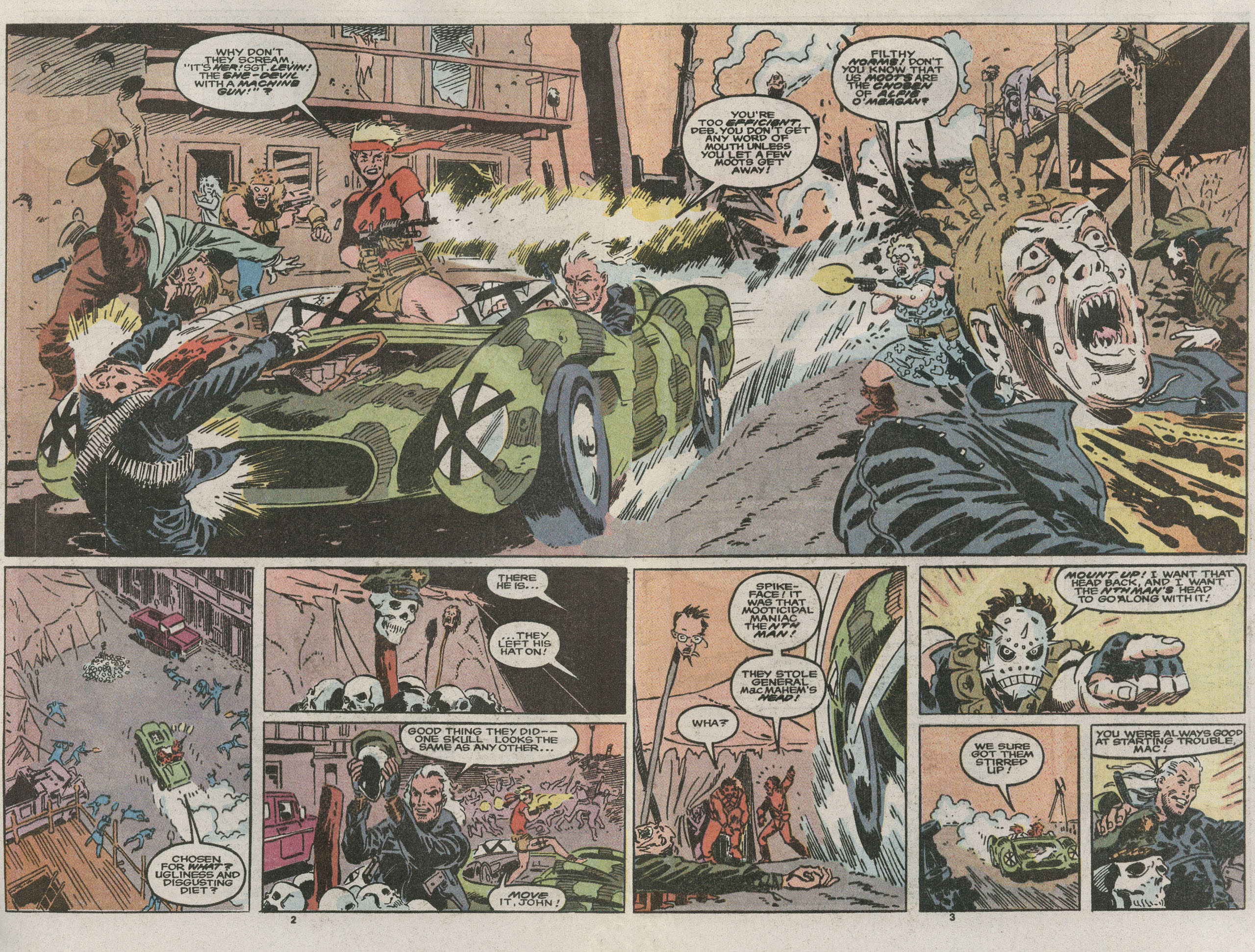 Read online Nth Man the Ultimate Ninja comic -  Issue #15 - 4