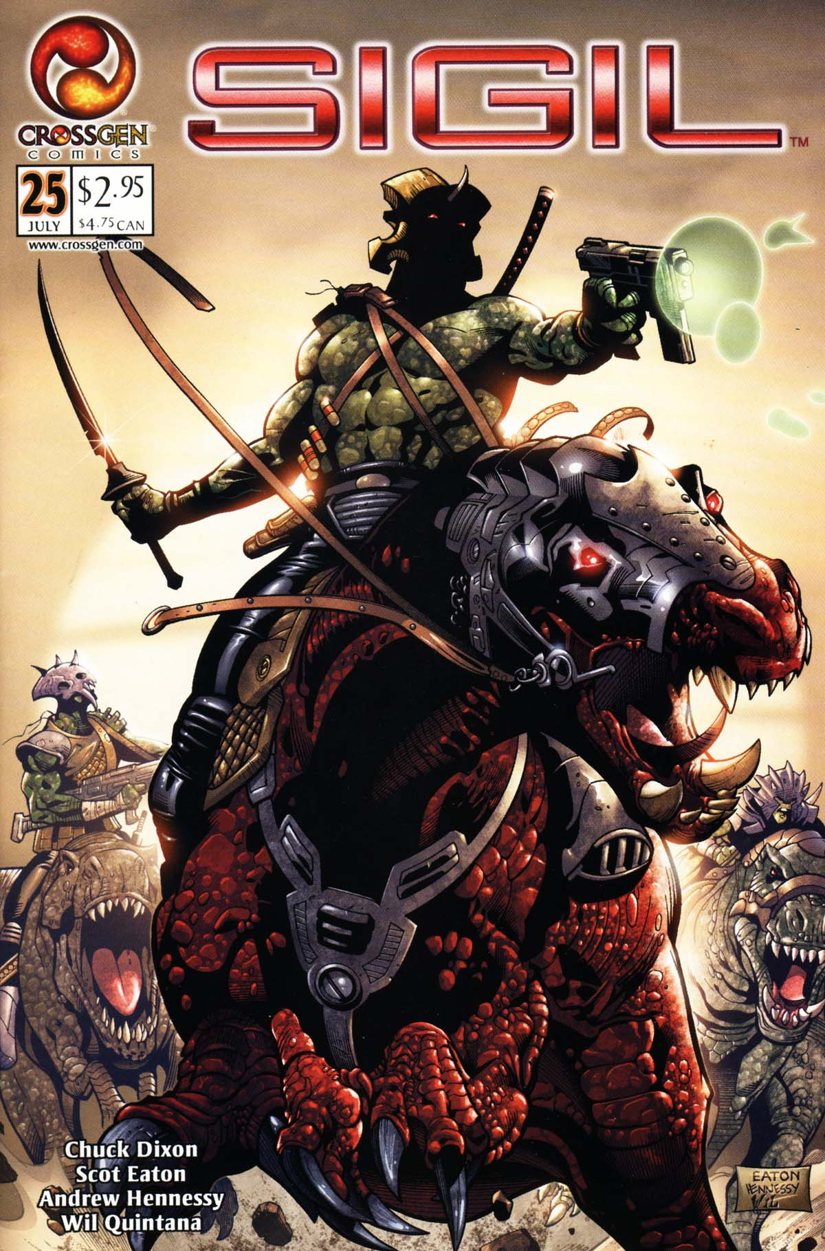 Read online Sigil (2000) comic -  Issue #25 - 1
