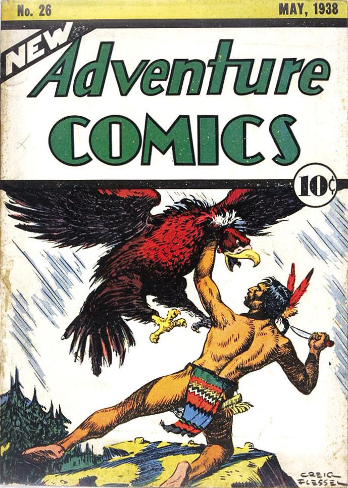 Read online Adventure Comics (1938) comic -  Issue #26 - 2