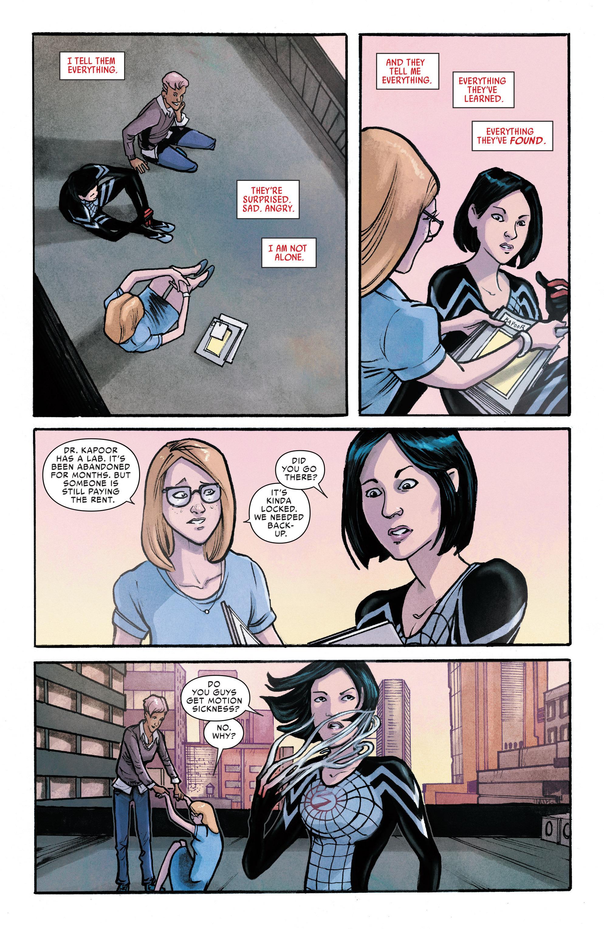 Read online Silk (2016) comic -  Issue #11 - 18