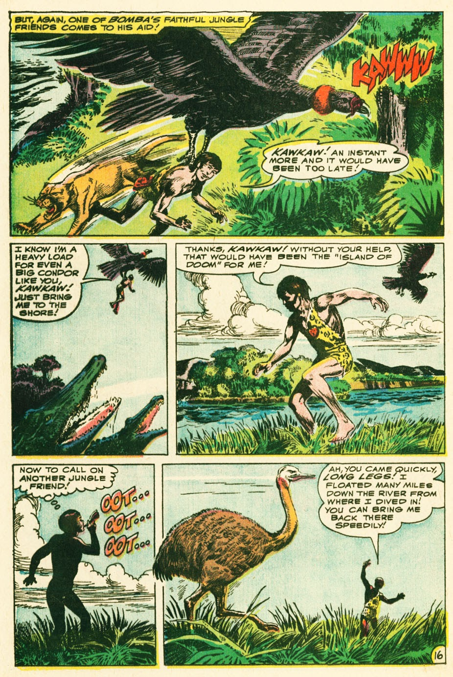 Bomba, The Jungle Boy issue 1 - Page 22
