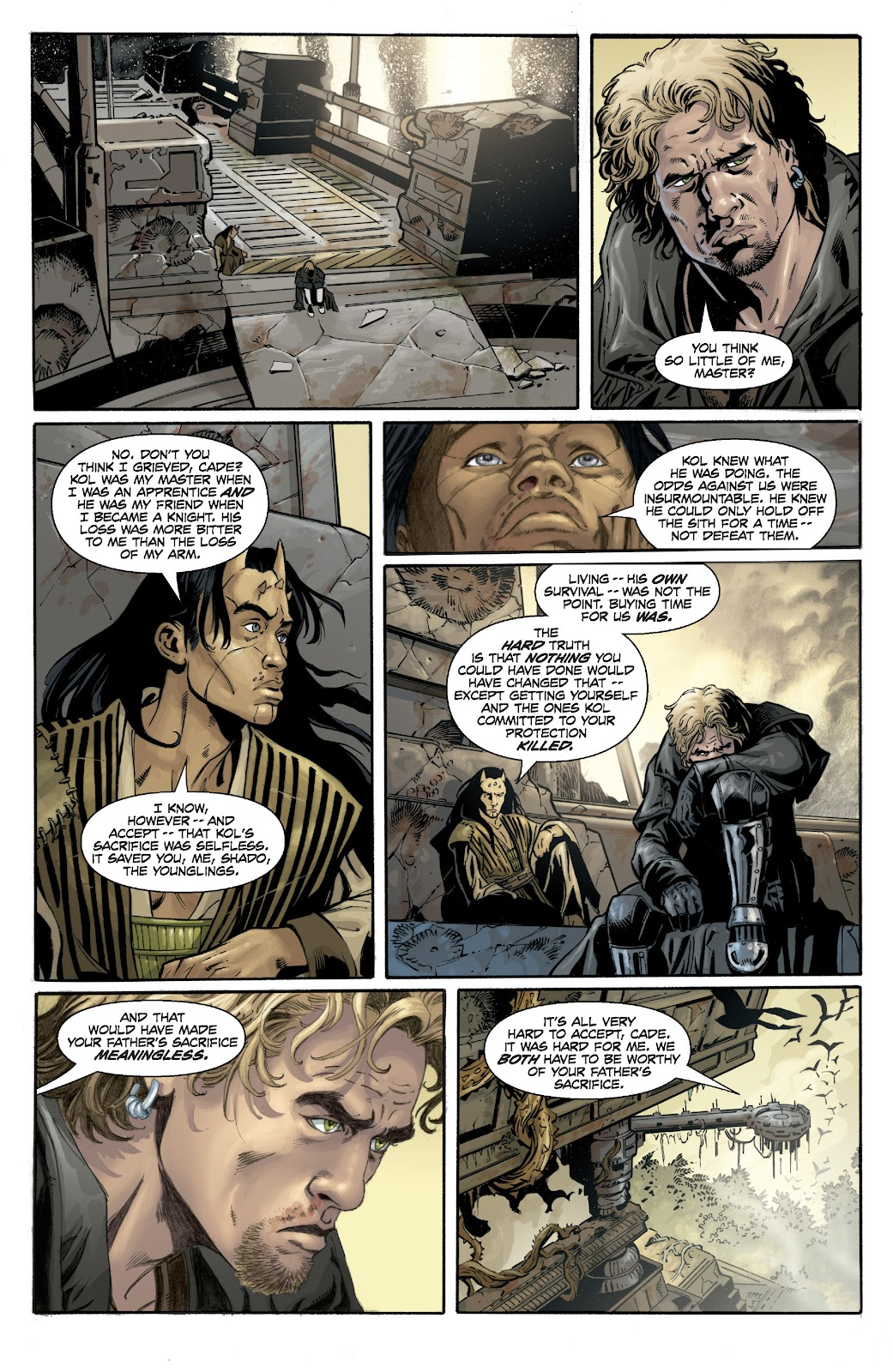Read online Star Wars Legends: Legacy - Epic Collection comic -  Issue # TPB 1 (Part 4) - 8