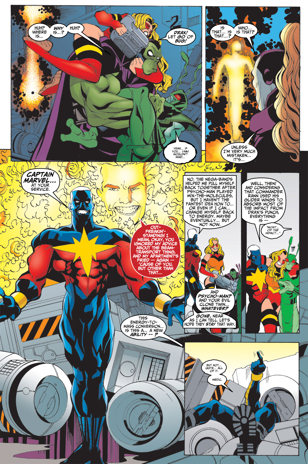 Captain Marvel (1999) Issue #16 #17 - English 22