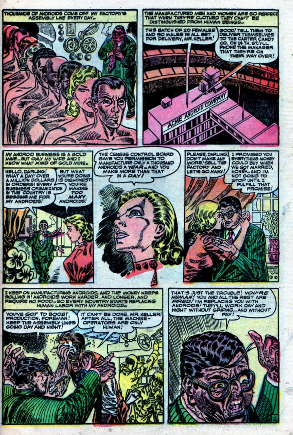 Read online Adventures into Weird Worlds comic -  Issue #27 - 30