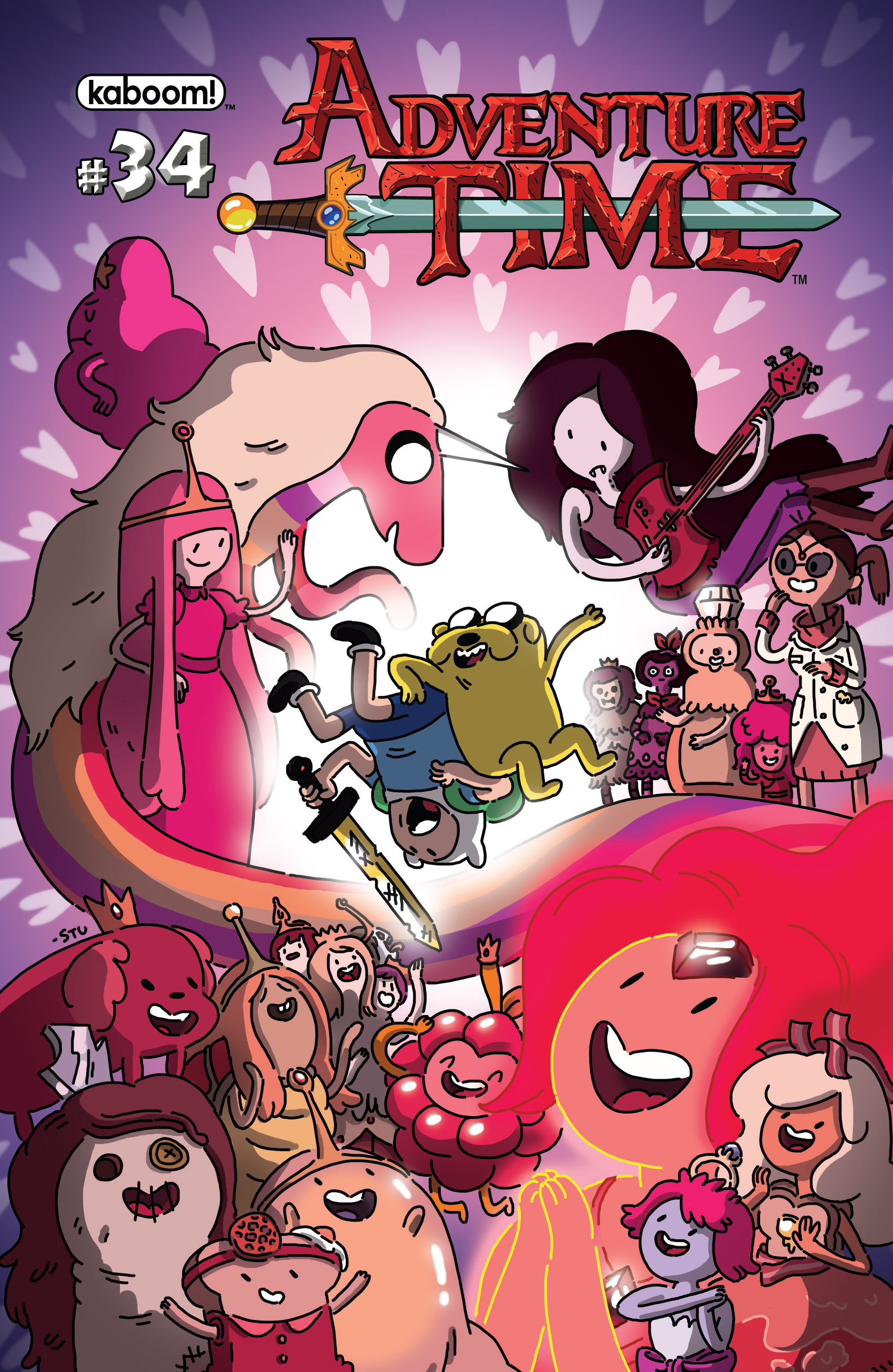Read online Adventure Time comic -  Issue #34 - 1