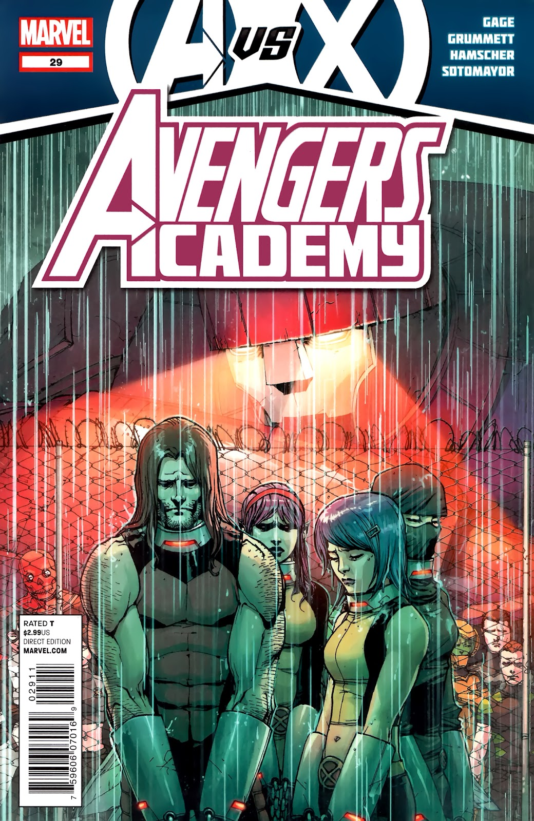Avengers Academy issue 29 - Page 1