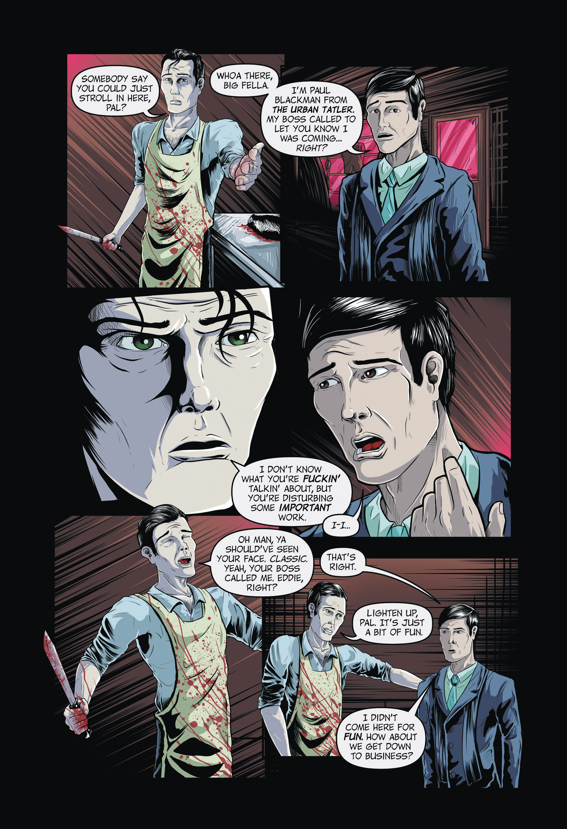Read online Redemption Heights comic -  Issue # Full - 83