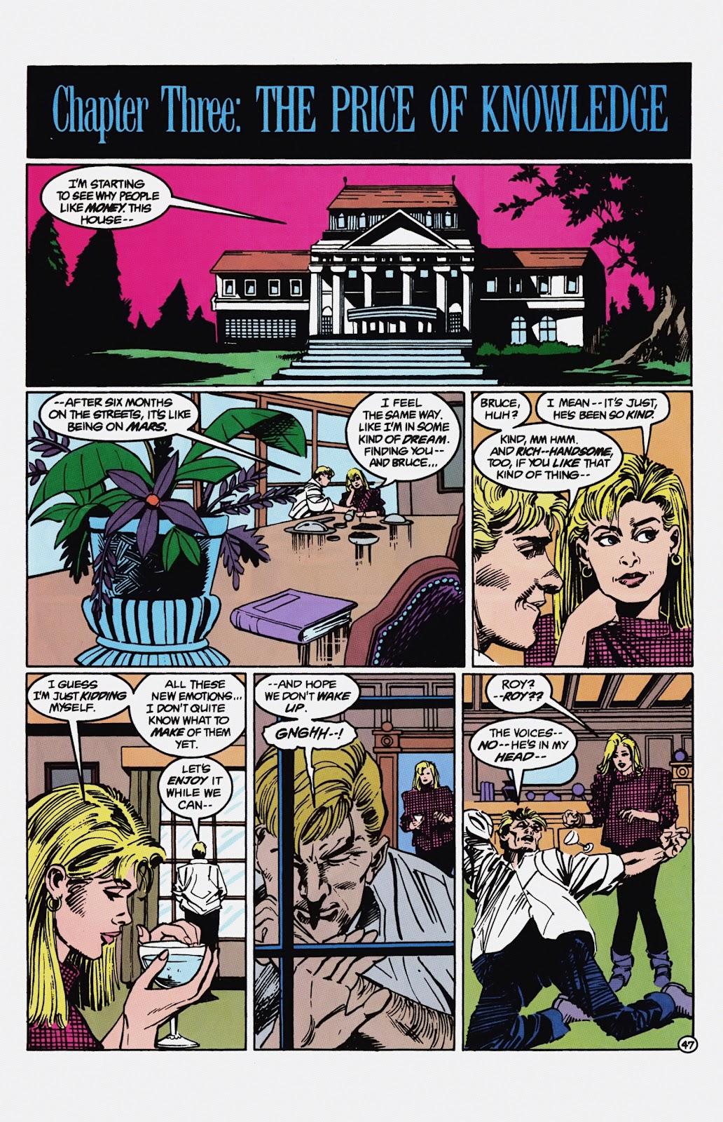Read online Detective Comics (1937) comic -  Issue # _TPB Batman - Blind Justice (Part 1) - 52