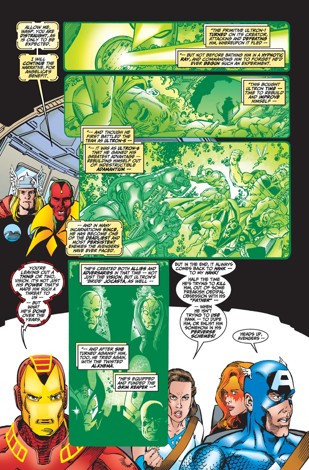 Read online Avengers (1998) comic -  Issue #19 - 13