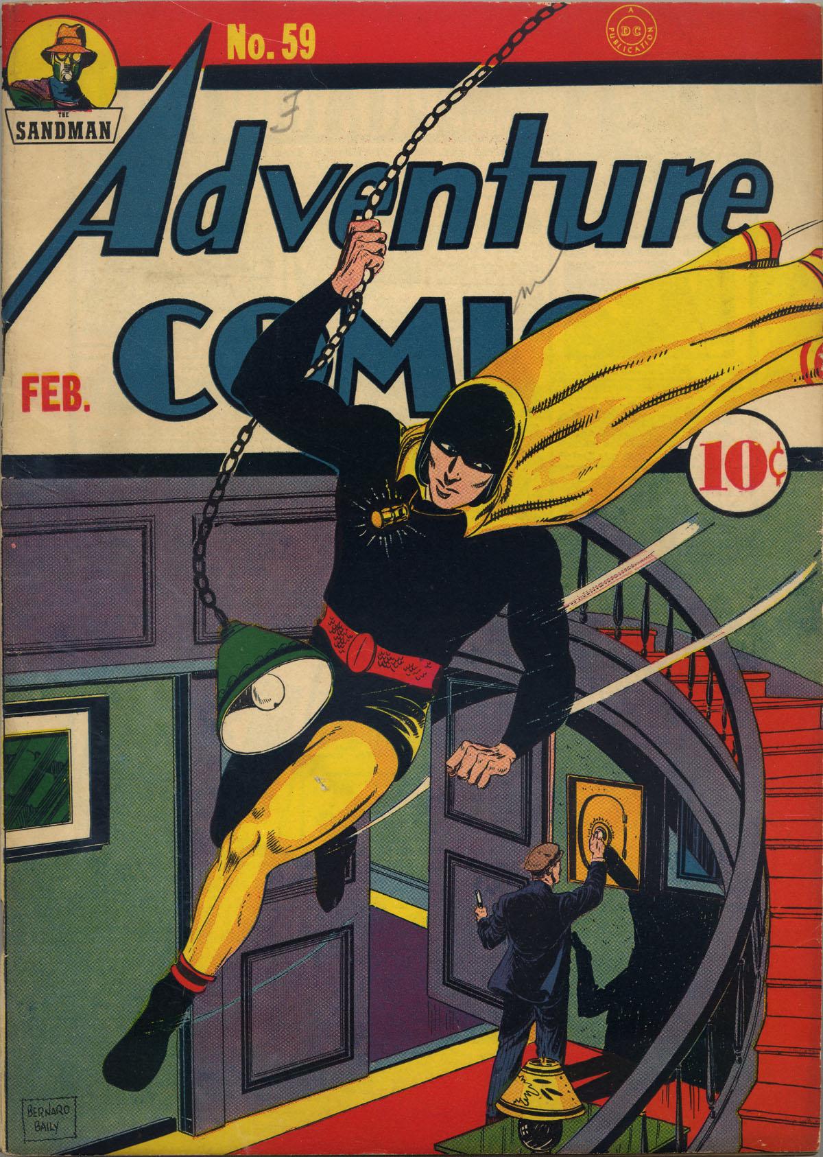 Read online Adventure Comics (1938) comic -  Issue #59 - 1
