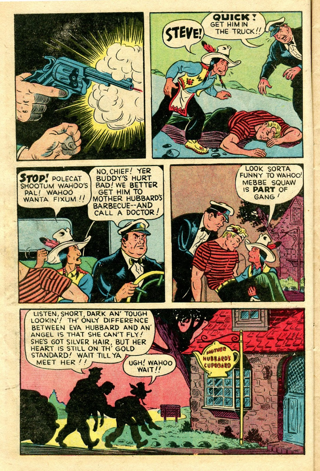 Read online Famous Funnies comic -  Issue #160 - 8