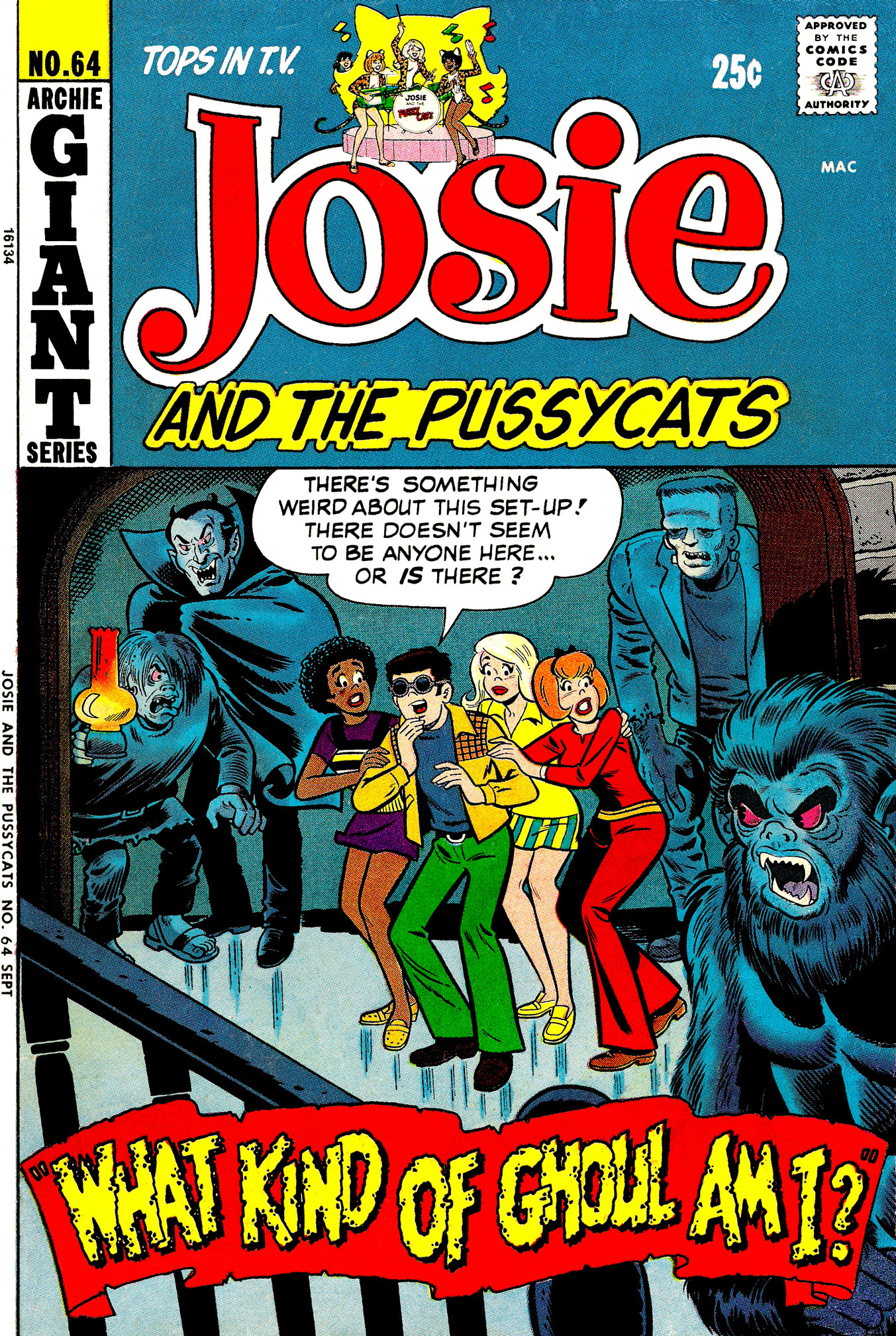 Read online She's Josie comic -  Issue #64 - 1