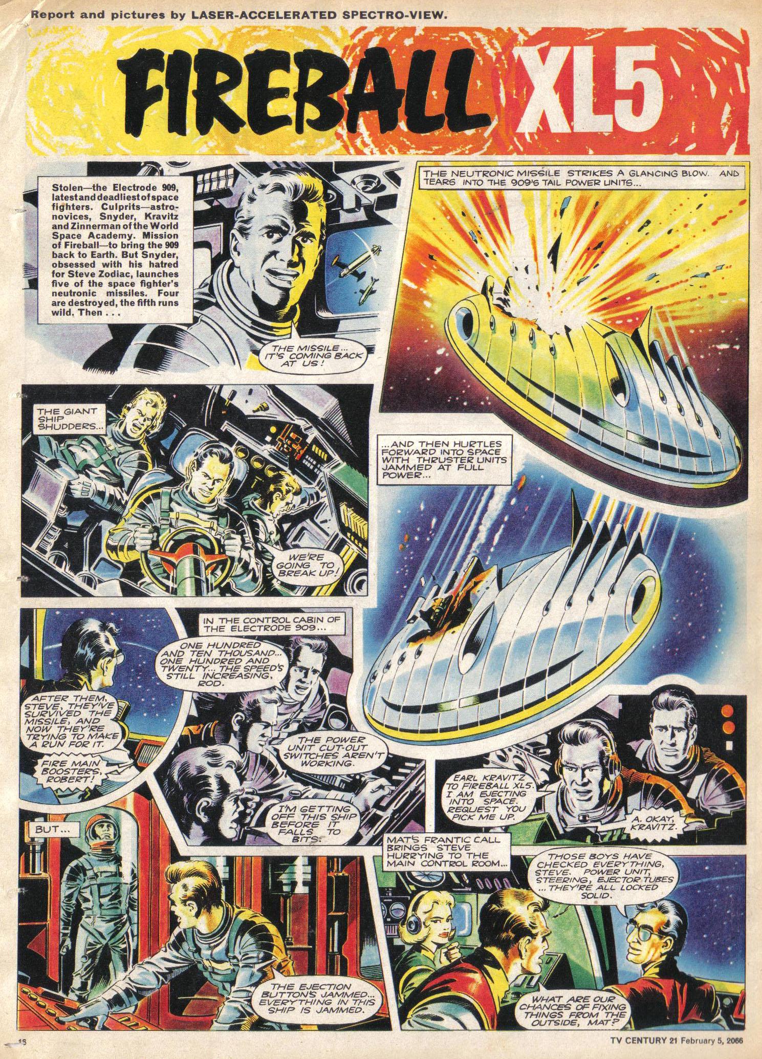 Read online TV Century 21 (TV 21) comic -  Issue #55 - 15