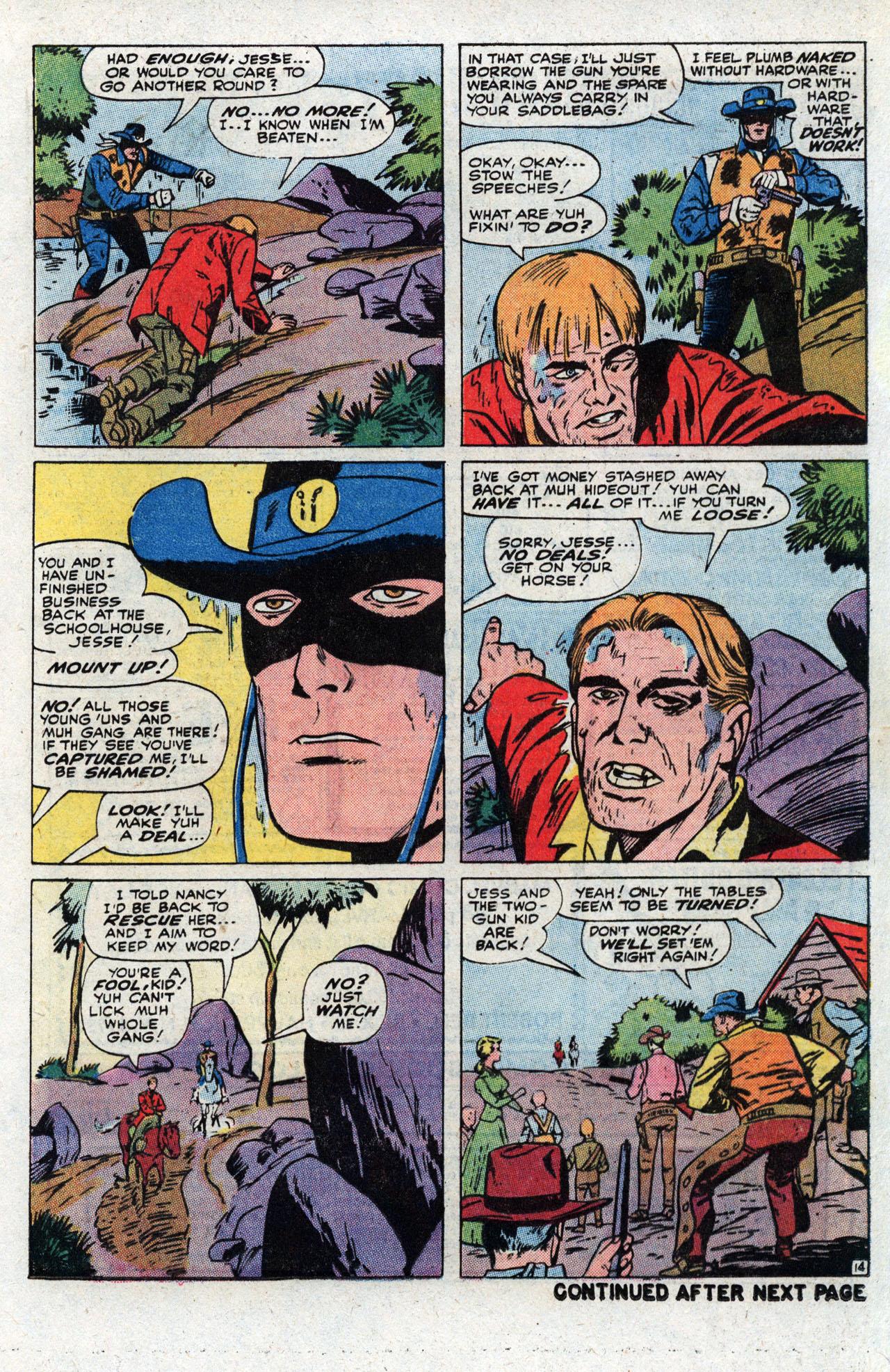 Read online Two-Gun Kid comic -  Issue #111 - 21