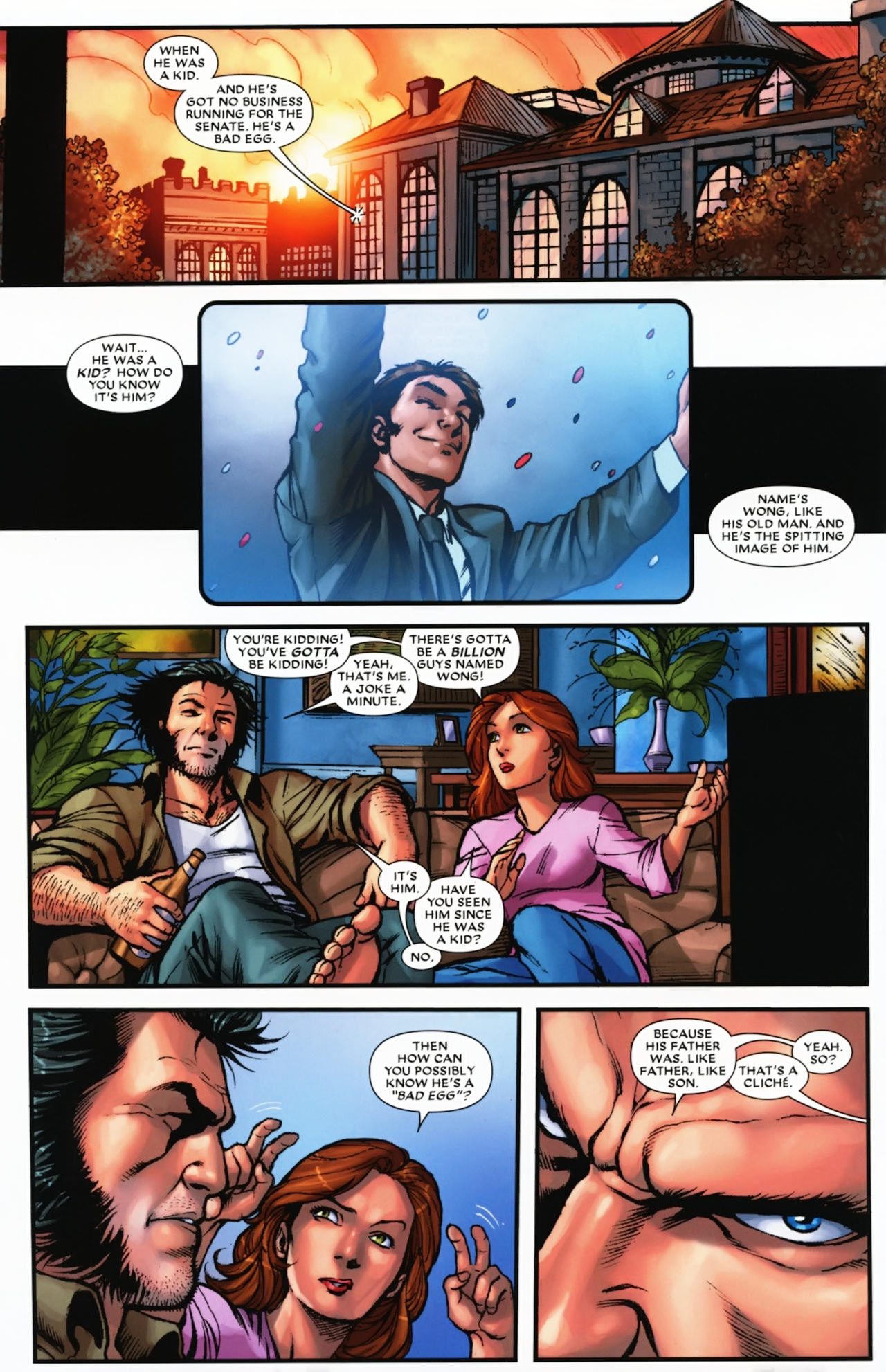 Read online Wolverine: First Class comic -  Issue #17 - 8
