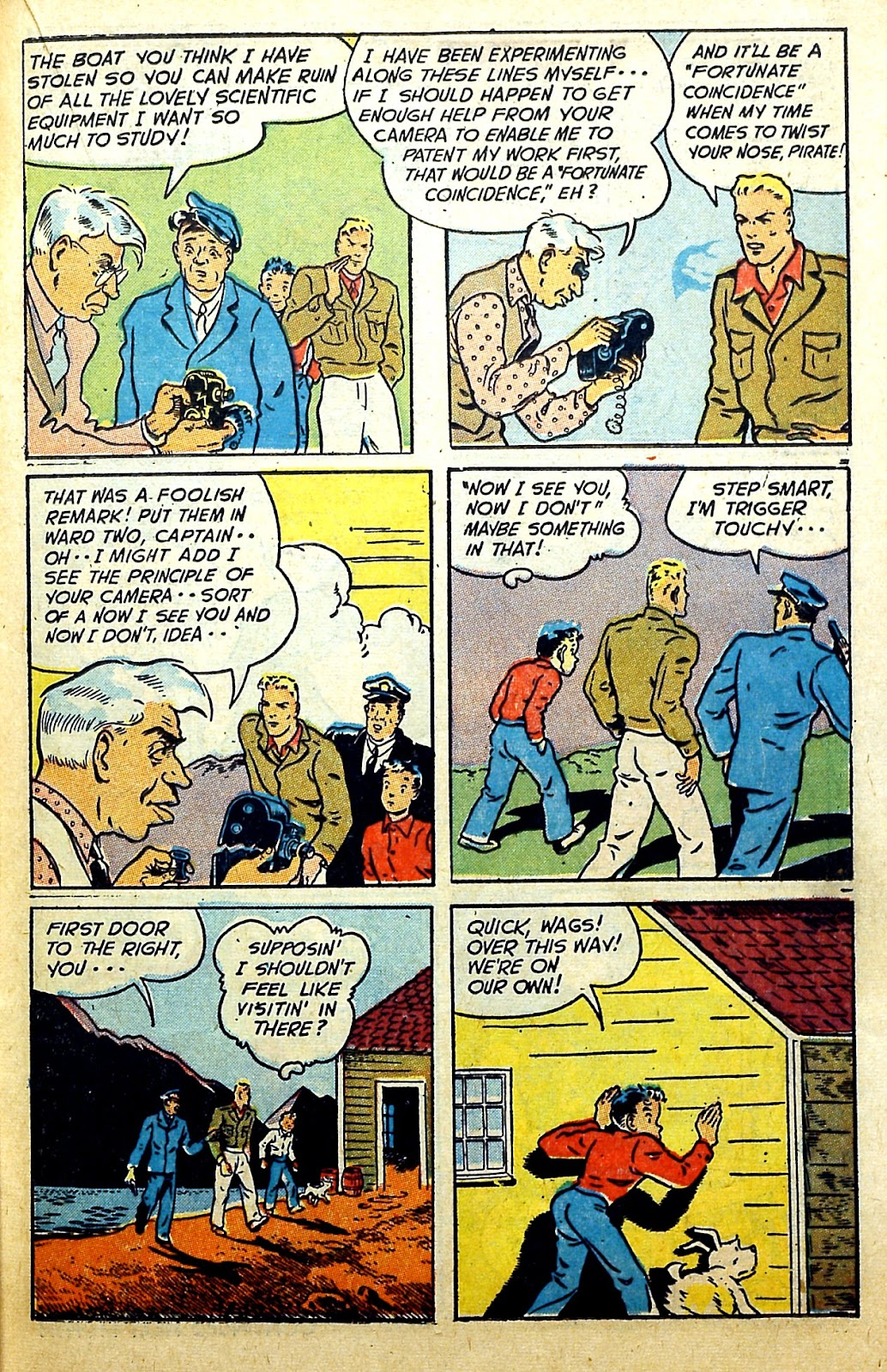 Read online Famous Funnies comic -  Issue #166 - 31