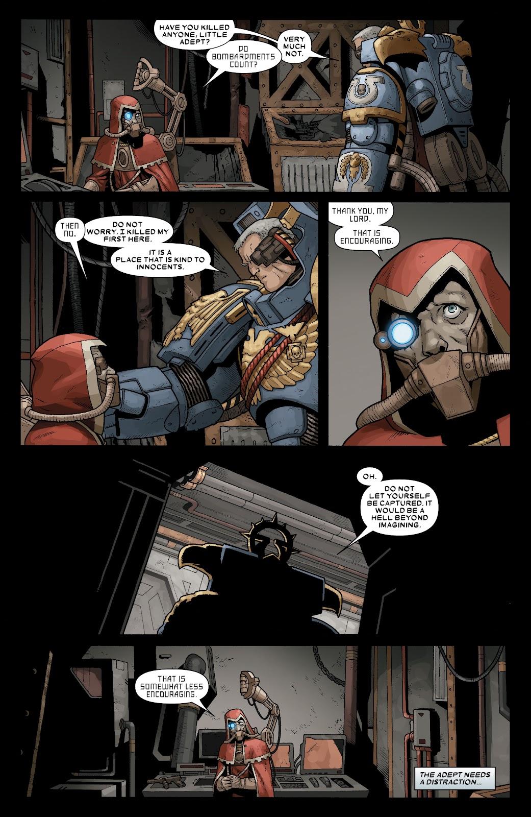Warhammer 40,000: Marneus Calgar issue 5 - Page 11