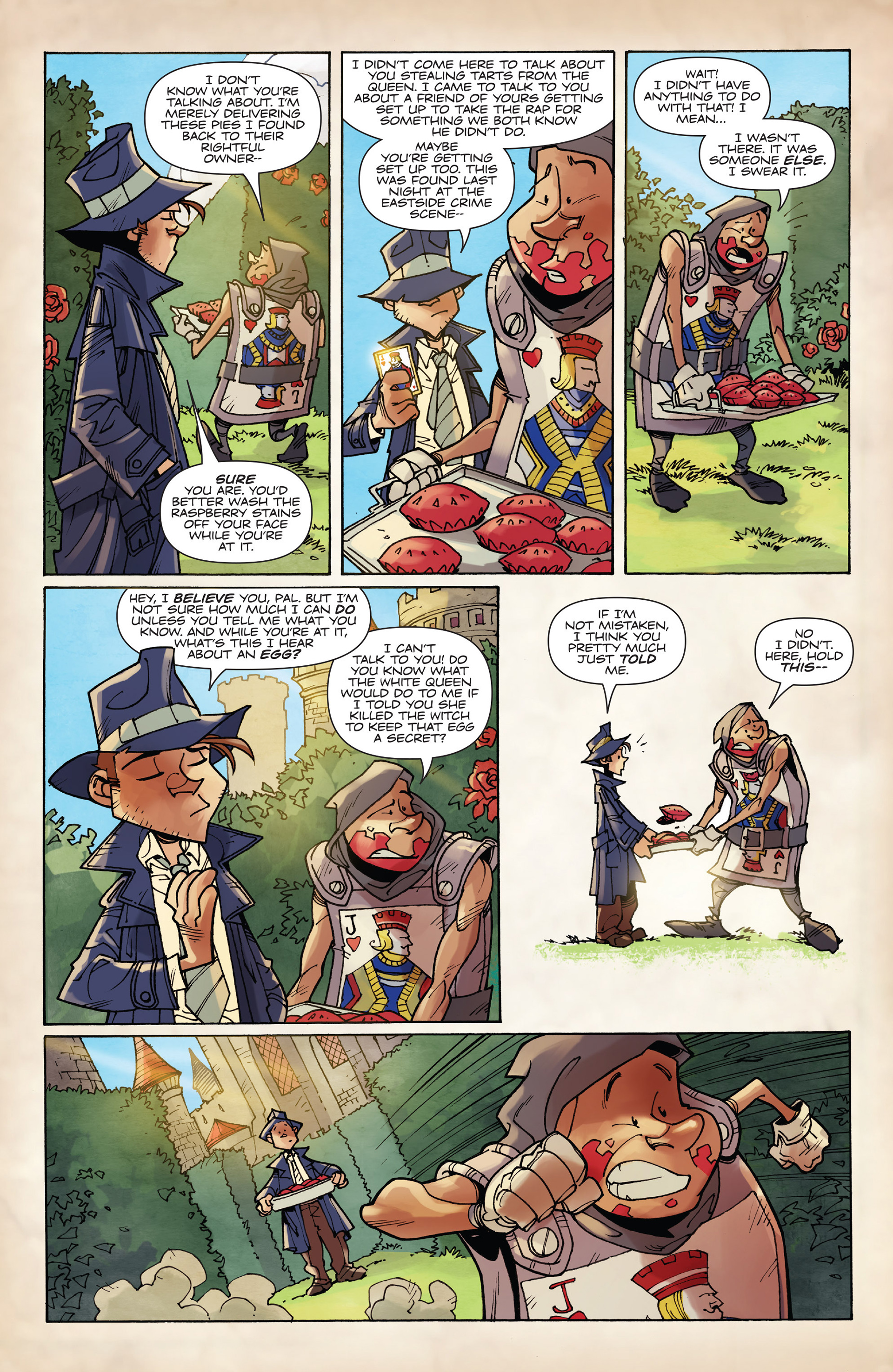 Read online Fiction Squad comic -  Issue #2 - 9