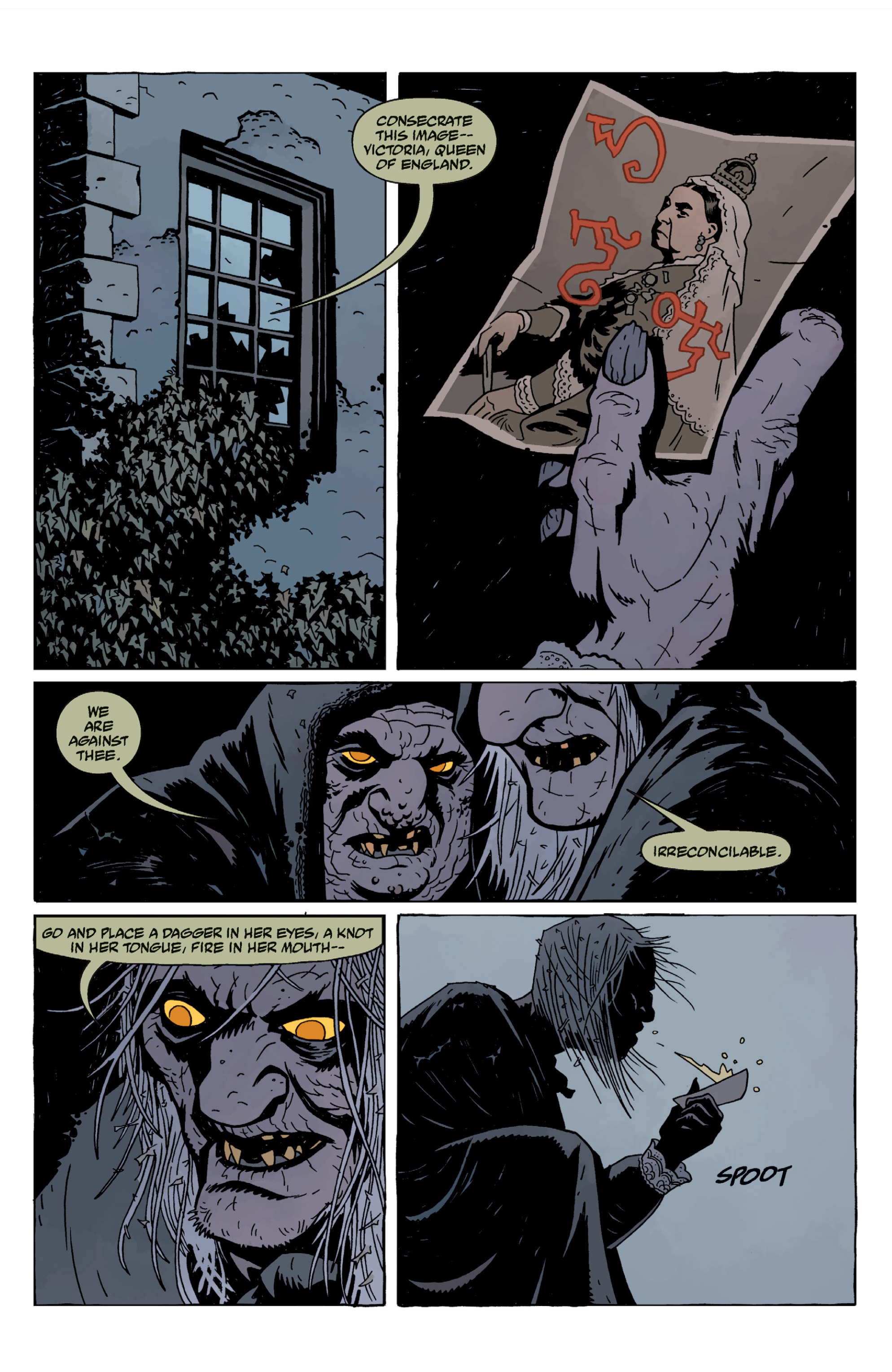 Read online Sir Edward Grey, Witchfinder: In the Service of Angels comic -  Issue # TPB - 129