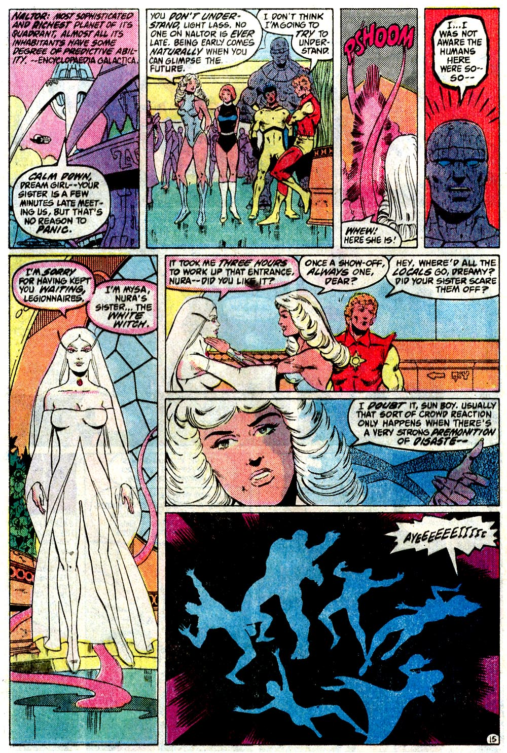 Legion of Super-Heroes (1980) 291 Page 15