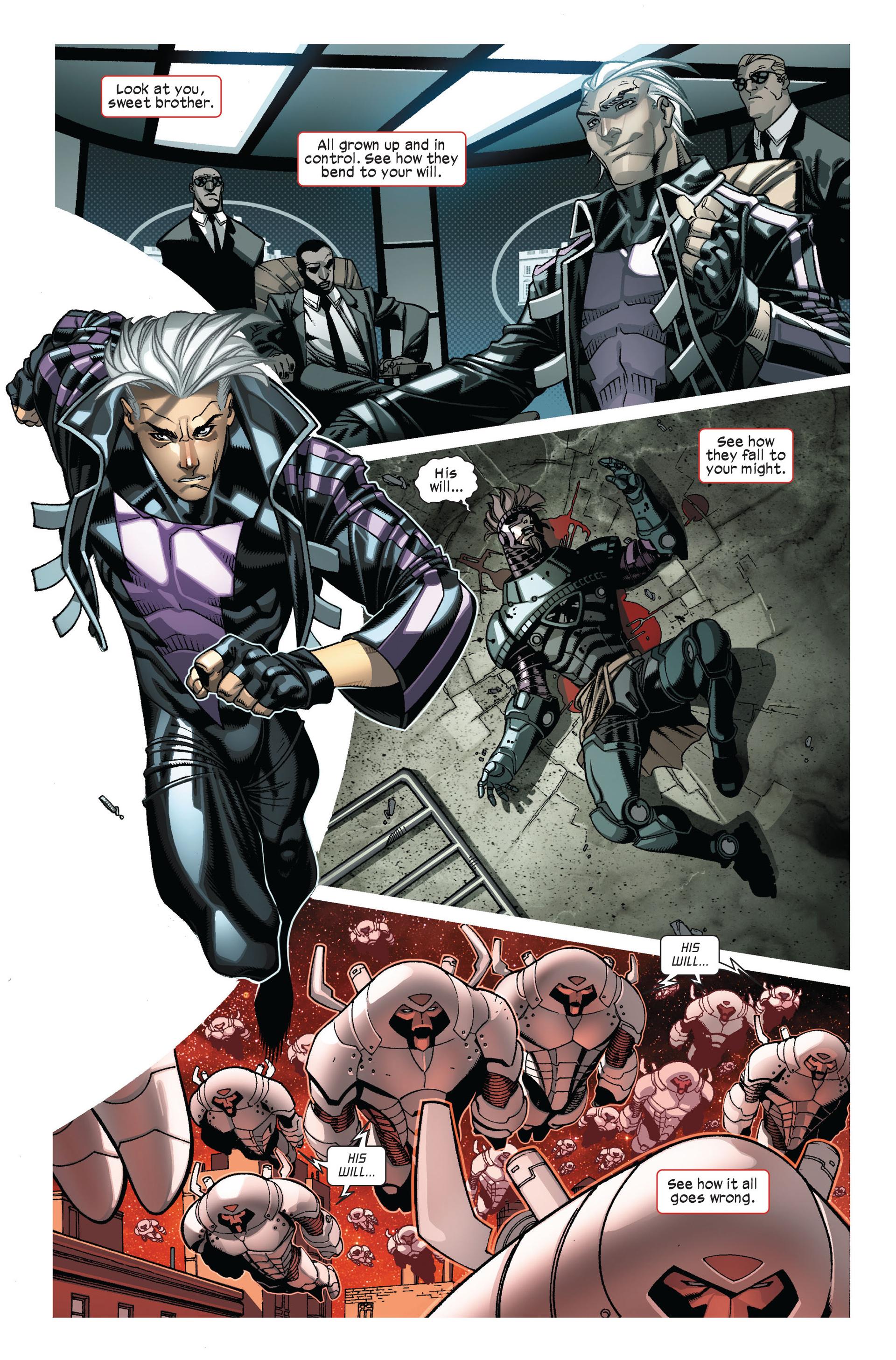 Read online Ultimate Comics X-Men comic -  Issue #7 - 3