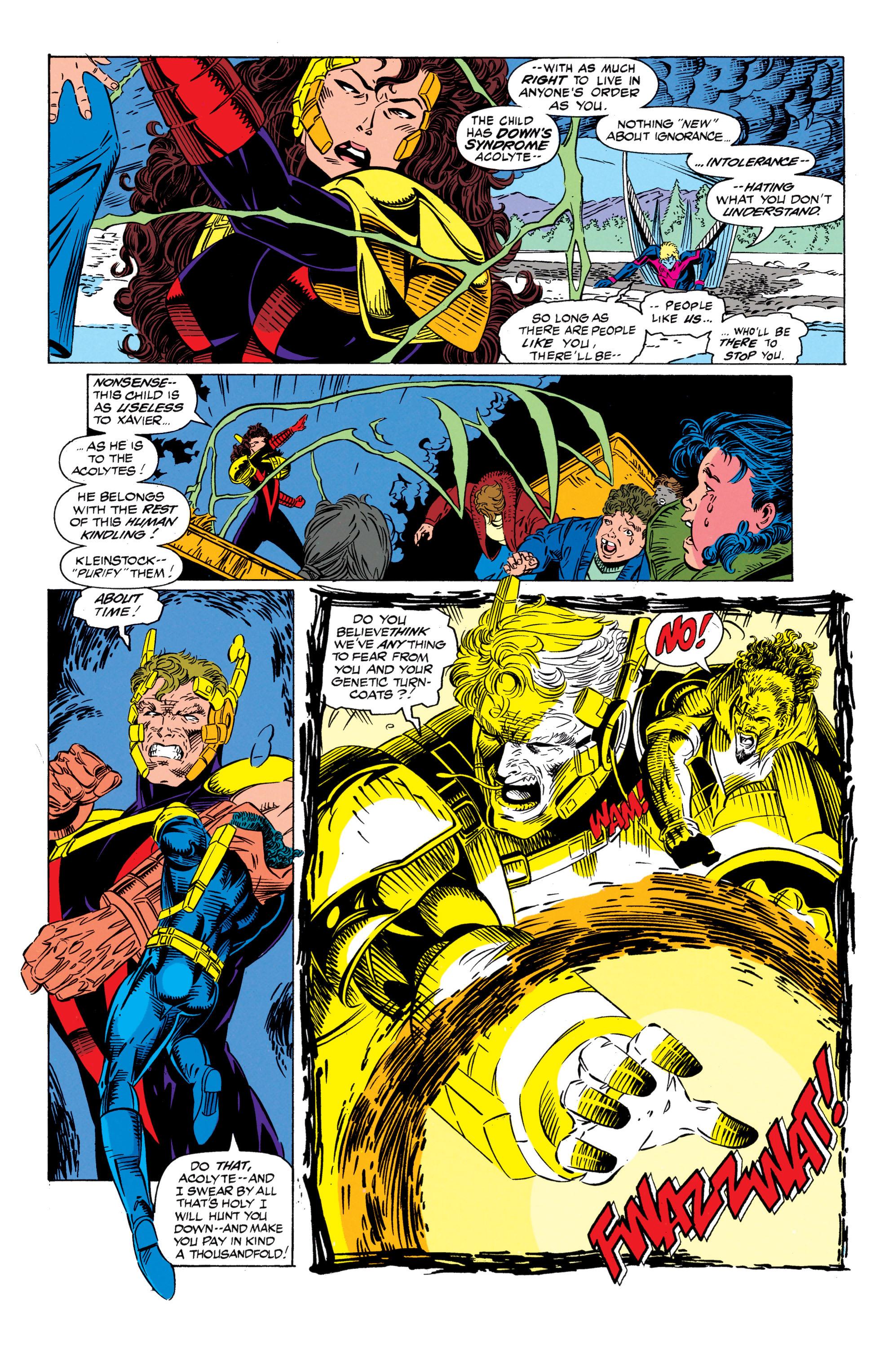 Read online Uncanny X-Men (1963) comic -  Issue #298 - 19
