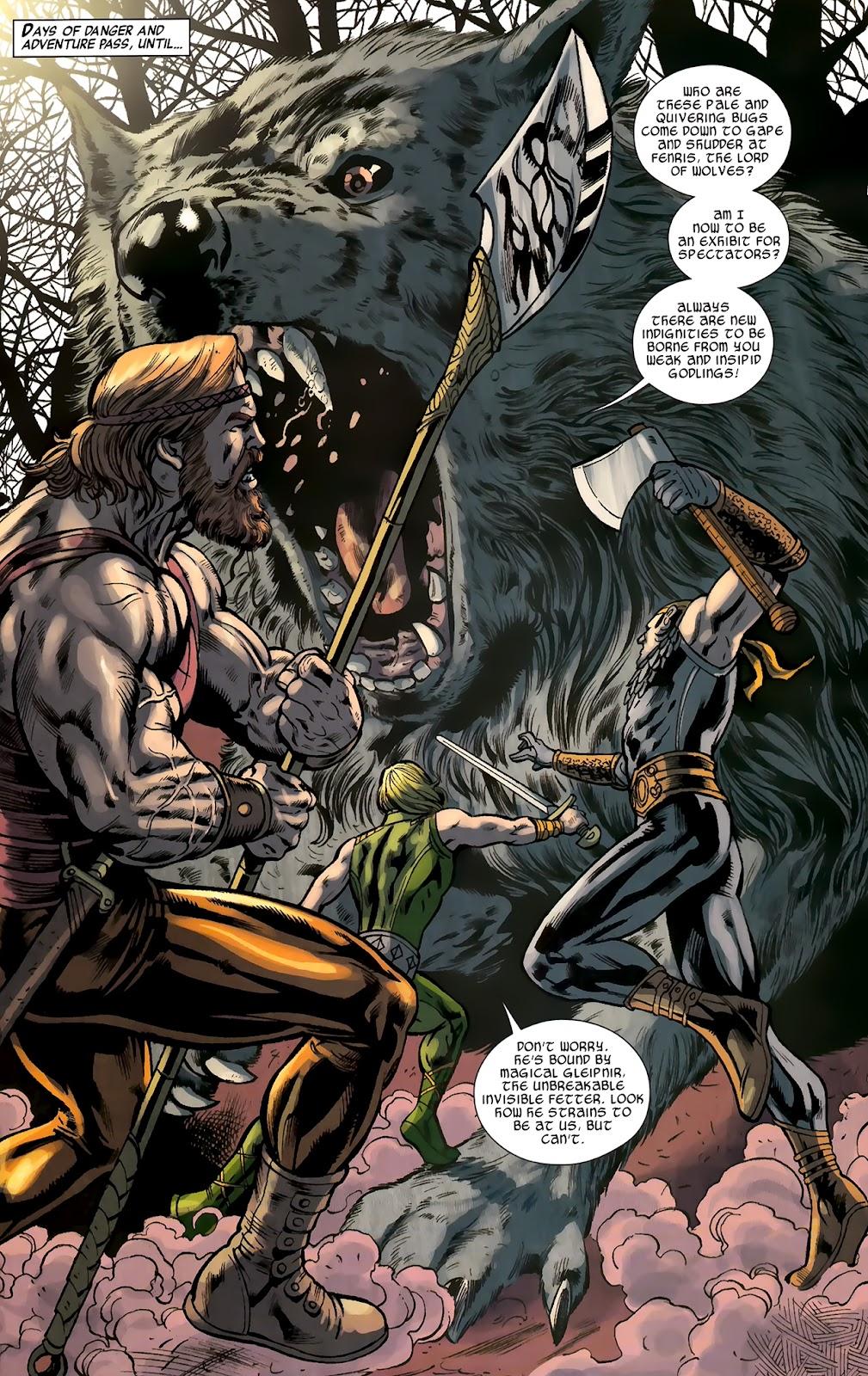 Warriors Three Issue #2 #2 - English 12
